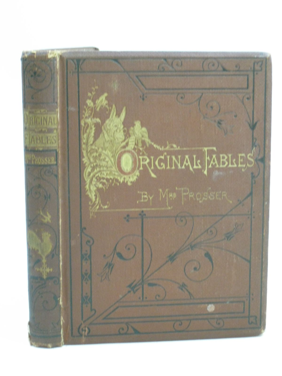Photo of ORIGINAL FABLES written by Prosser, Mrs. illustrated by Griset, Ernest<br />Weir, Harrison<br />Humphreys, Noel<br />et al., published by The Religious Tract Society (STOCK CODE: 1404733)  for sale by Stella & Rose's Books