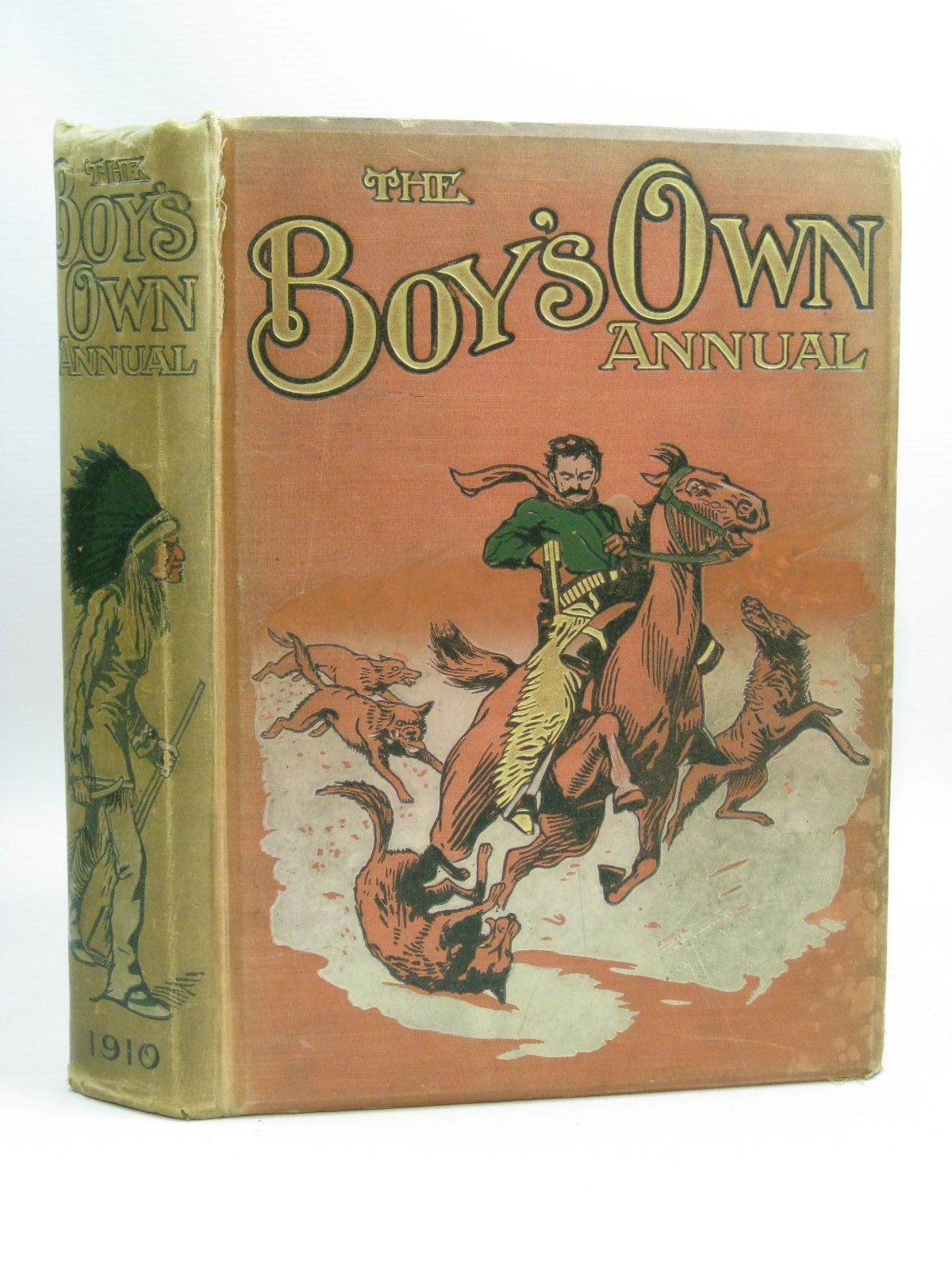 Photo of THE BOY'S OWN ANNUAL VOL 32 written by Bradshaw, Percy V. Hinkson, H.A. Bevan, Tom et al, illustrated by Dixon, Charles Edwards, Lionel Swan, C.E. Earnshaw, Harold et al., published by The Boy's Own Paper (STOCK CODE: 1404811)  for sale by Stella & Rose's Books