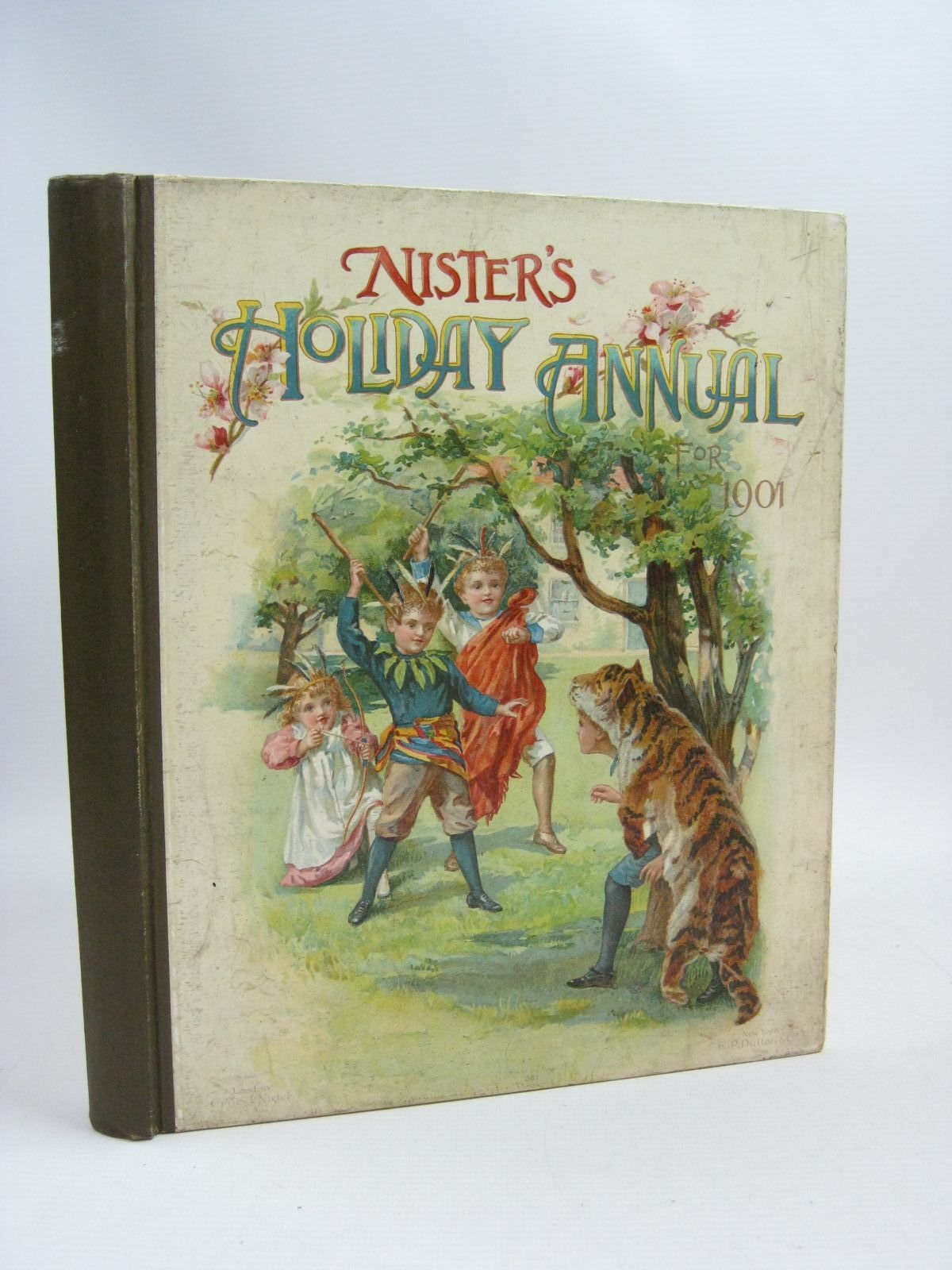 Photo of NISTER'S HOLIDAY ANNUAL FOR 1901 written by Fuller, Alfred J. Fenn, George Manville Meade, L.T. et al,  illustrated by Wain, Louis et al.,  published by Ernest Nister (STOCK CODE: 1404831)  for sale by Stella & Rose's Books