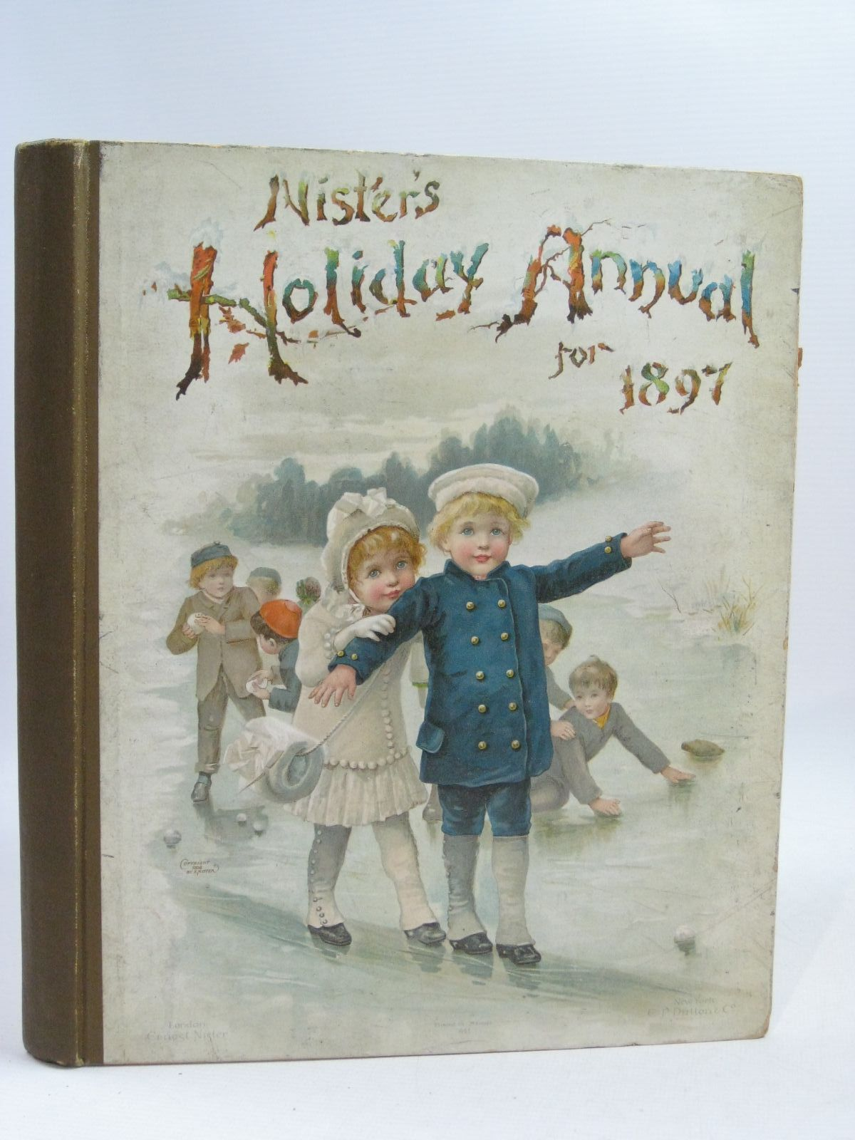 Photo of NISTER'S HOLIDAY ANNUAL FOR 1897 written by Fuller, Alfred J. Mack, Robert Ellis Weedon, L.L. Bingham, Clifton Nesbit, E. et al,  illustrated by Wain, Louis Foster, W. et al.,  published by Ernest Nister (STOCK CODE: 1404840)  for sale by Stella & Rose's Books