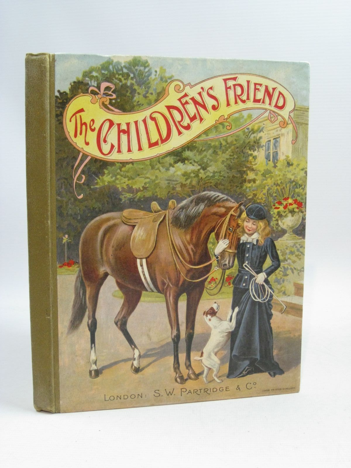 Photo of THE CHILDREN'S FRIEND ANNUAL FOR 1903 written by Hammerton, J.A.<br />Rowsell, Mary C.<br />Oxley, J. Macdonald illustrated by Wain, Louis<br />Weir, Harrison<br />Copping, Harold published by S.W. Partridge &amp; Co. (STOCK CODE: 1404885)  for sale by Stella & Rose's Books
