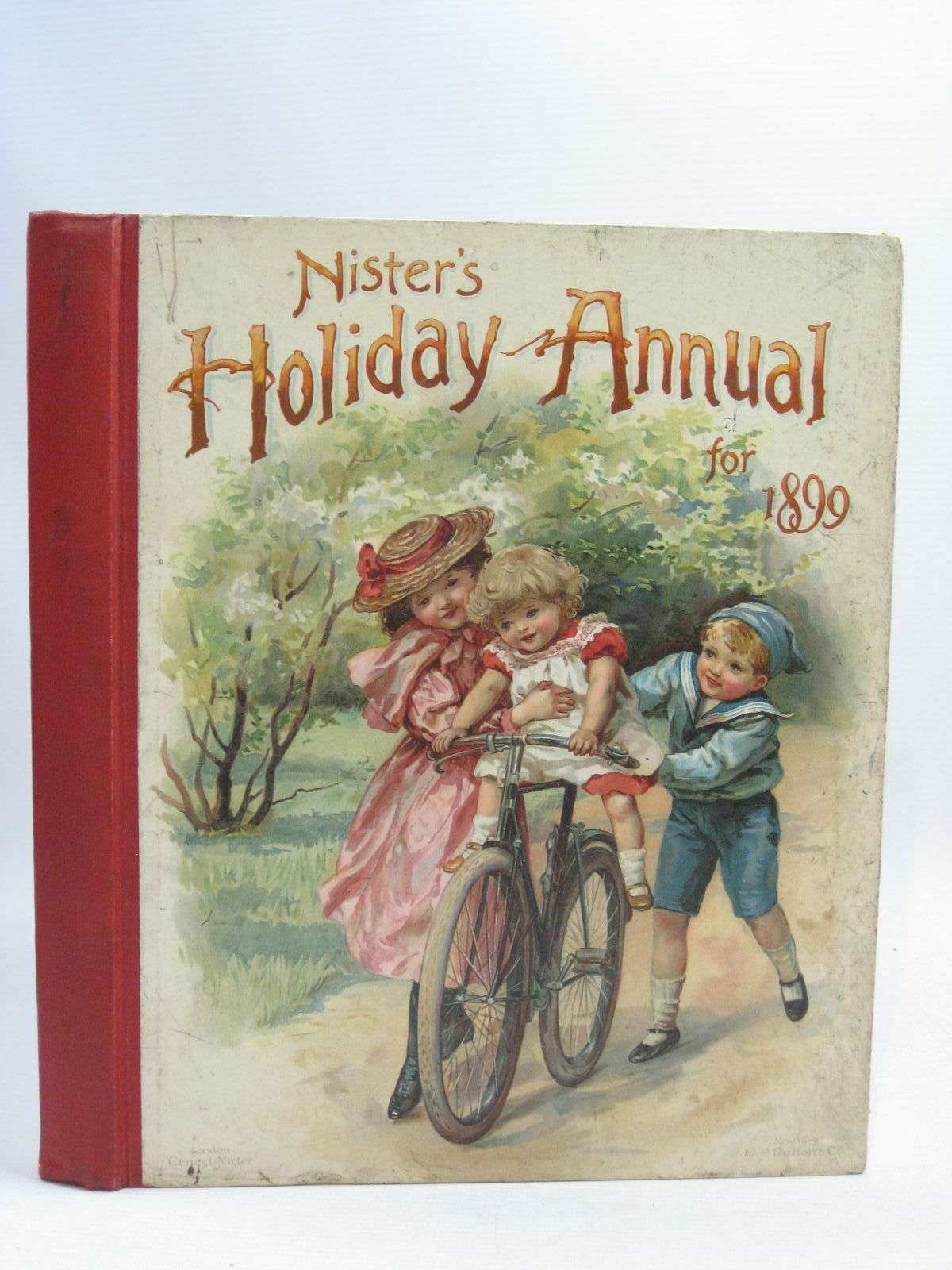 Photo of NISTER'S HOLIDAY ANNUAL FOR 1899 written by Fenn, George Manville Fuller, Alfred J. Weedon, L.L. illustrated by Nister, Ernest Taylor, Edith et al., published by Ernest Nister, E.P. Dutton & Co. (STOCK CODE: 1404914)  for sale by Stella & Rose's Books