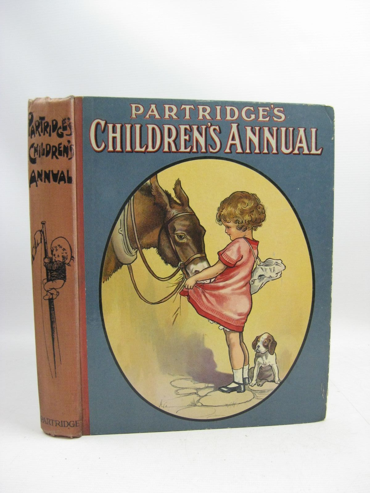 Photo of PARTRIDGE'S CHILDREN'S ANNUAL written by Lea, John<br />Chaundler, Christine<br />Blomfield, Elsie<br />et al, illustrated by Wain, Louis<br />Studdy, G.E.<br />Aris, Ernest A.<br />Lambert, H.G.C. Marsh<br />et al., published by S.W. Partridge &amp; Co. Ltd. (STOCK CODE: 1404925)  for sale by Stella & Rose's Books