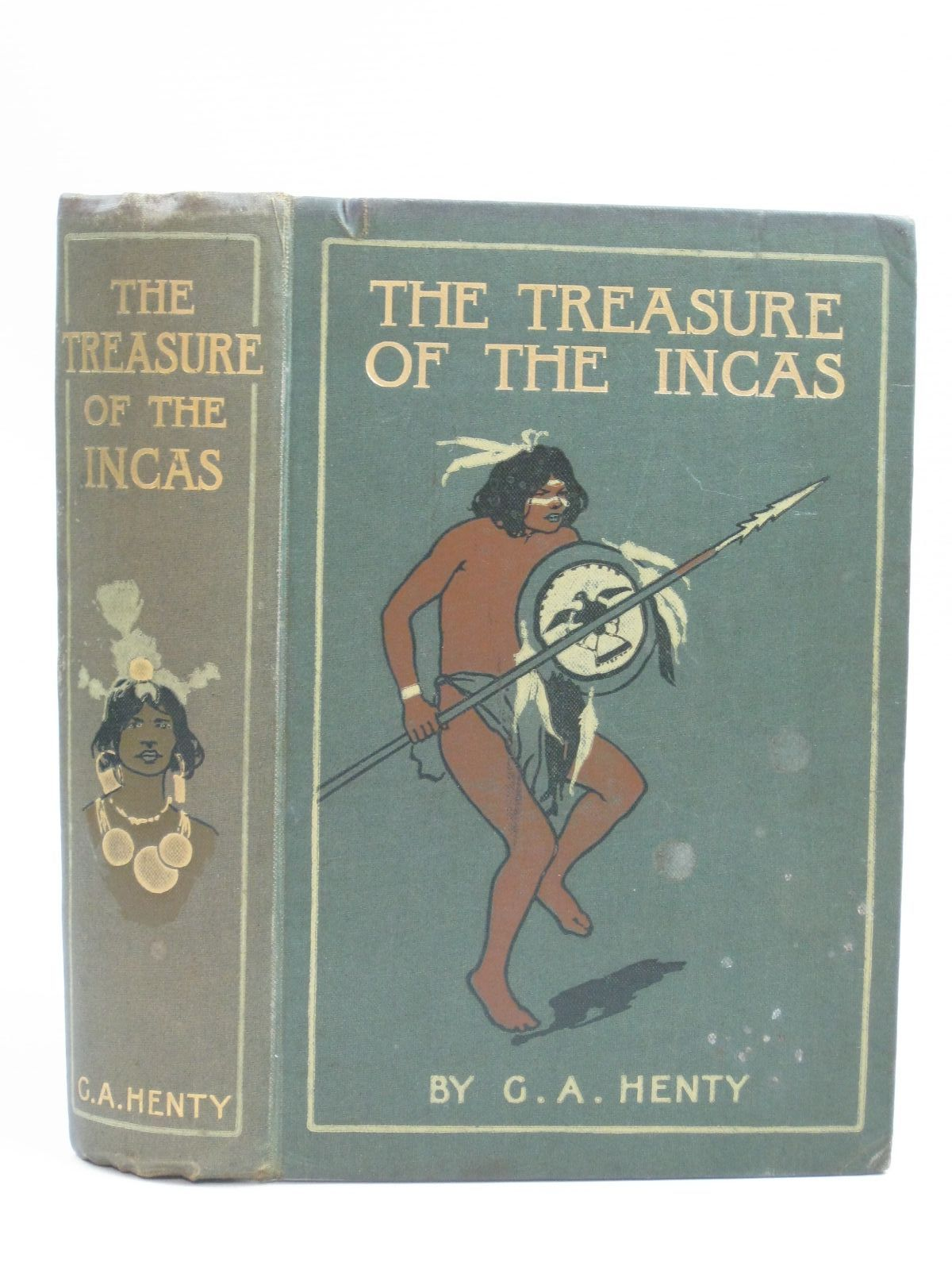 Photo of THE TREASURE OF THE INCAS written by Henty, G.A. illustrated by Paget, Wal published by Blackie & Son Ltd. (STOCK CODE: 1404935)  for sale by Stella & Rose's Books
