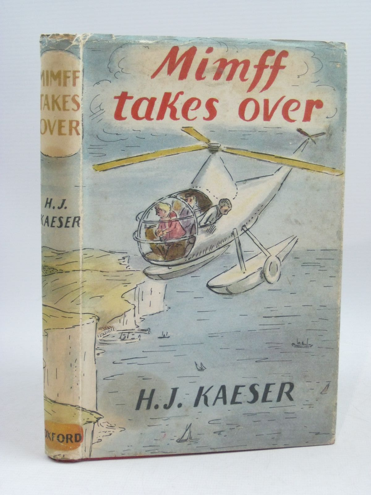 Photo of MIMFF TAKES OVER written by Kaeser, H.J. illustrated by Ardizzone, Edward published by Oxford University Press (STOCK CODE: 1404970)  for sale by Stella & Rose's Books