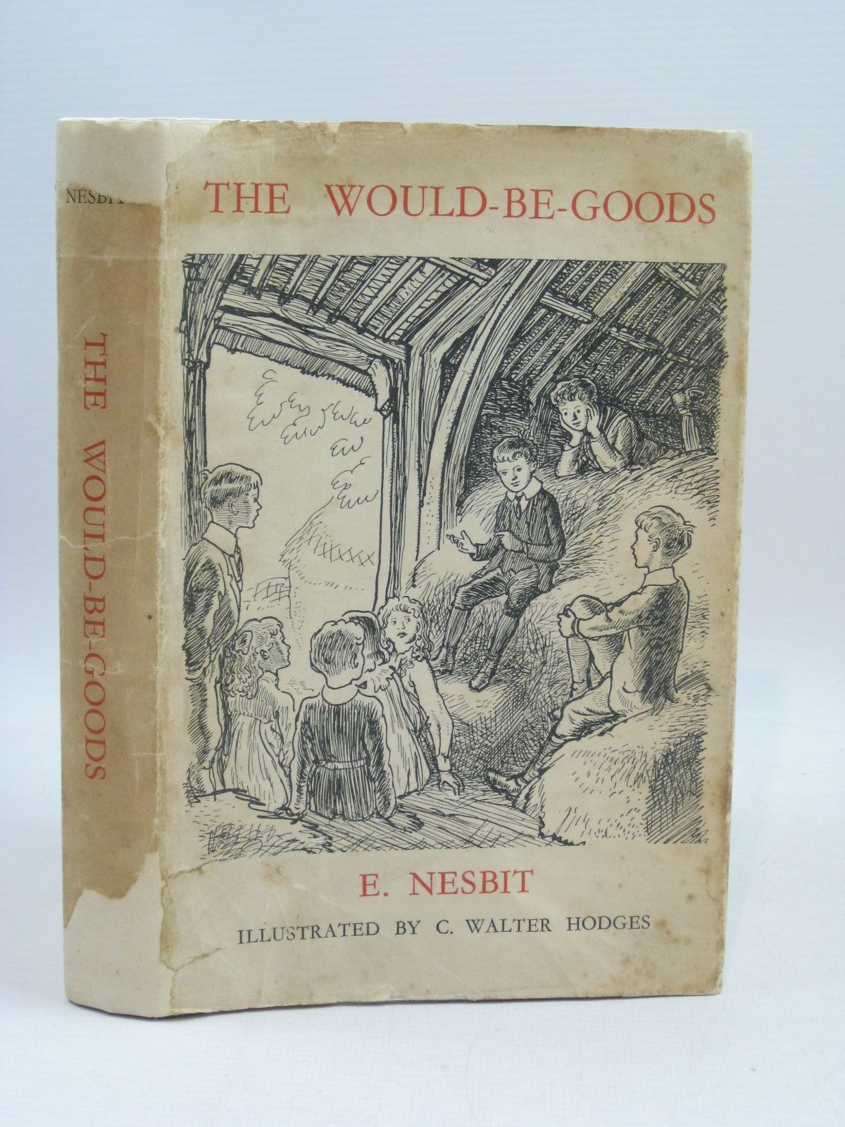 Photo of THE WOULDBEGOODS written by Nesbit, E. illustrated by Hodges, C. Walter published by Ernest Benn Limited (STOCK CODE: 1405008)  for sale by Stella & Rose's Books
