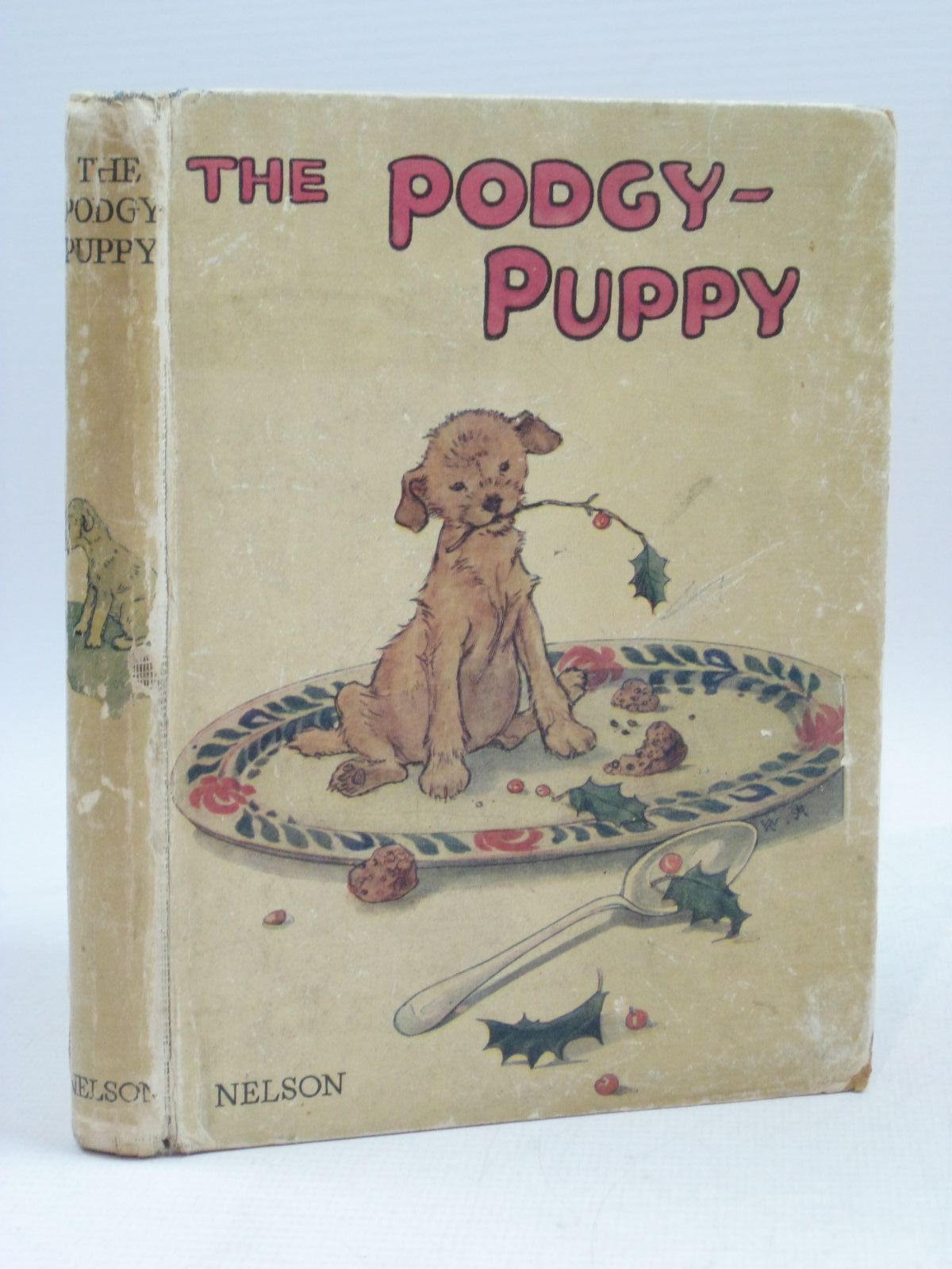 Photo of THE PODGY-PUPPY written by Dennis, Clara G. illustrated by Wright, Alan Anderson, Anne published by Thomas Nelson and Sons Ltd. (STOCK CODE: 1405017)  for sale by Stella & Rose's Books