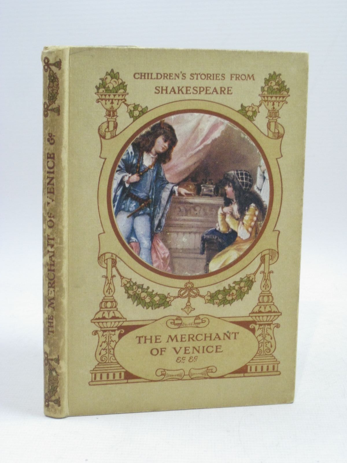 Photo of THE MERCHANT OF VENICE AND OTHER STORIES written by Nesbit, E. Shakespeare, William Chesson, Hugh illustrated by Brundage, Frances Bowley, M. published by Raphael Tuck & Sons Ltd. (STOCK CODE: 1405077)  for sale by Stella & Rose's Books