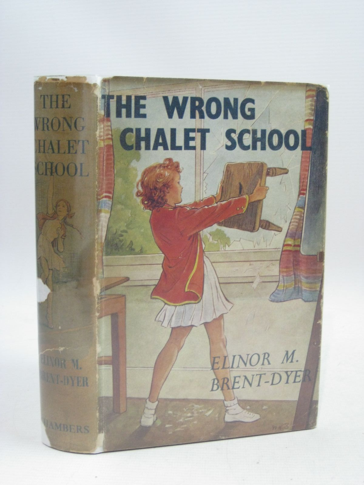 Photo of THE WRONG CHALET SCHOOL written by Brent-Dyer, Elinor M. illustrated by Brisley, Nina K. published by W. & R. Chambers Limited (STOCK CODE: 1405147)  for sale by Stella & Rose's Books