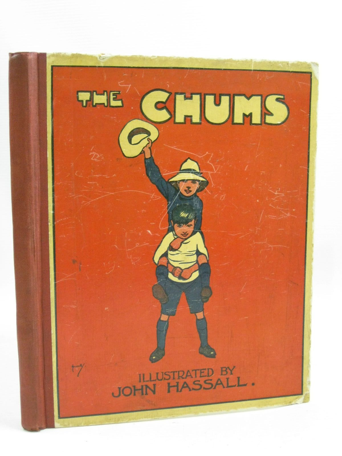 Photo of THE CHUMS written by Hassall, John illustrated by Hassall, John published by Thomas Nelson & Sons (STOCK CODE: 1405170)  for sale by Stella & Rose's Books