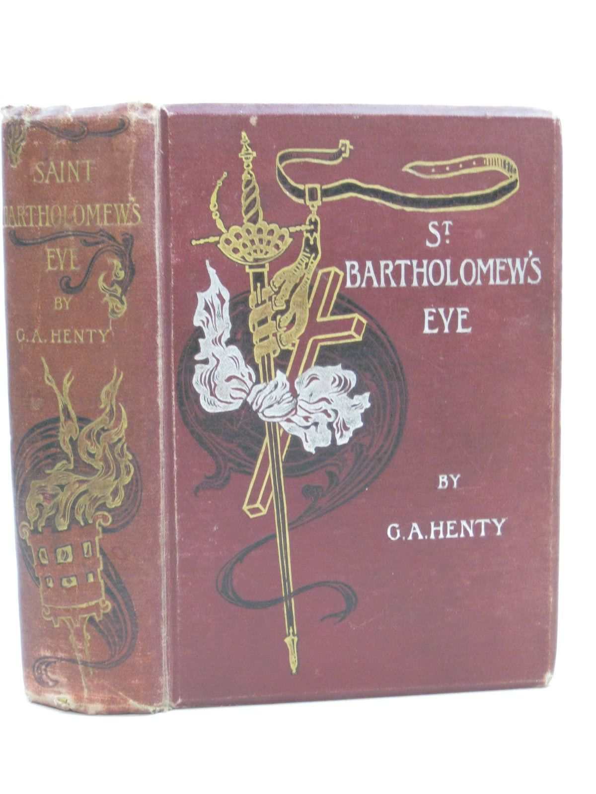Photo of ST. BARTHOLOMEW'S EVE written by Henty, G.A. illustrated by Draper, Herbert J. published by Blackie & Son Ltd. (STOCK CODE: 1405183)  for sale by Stella & Rose's Books
