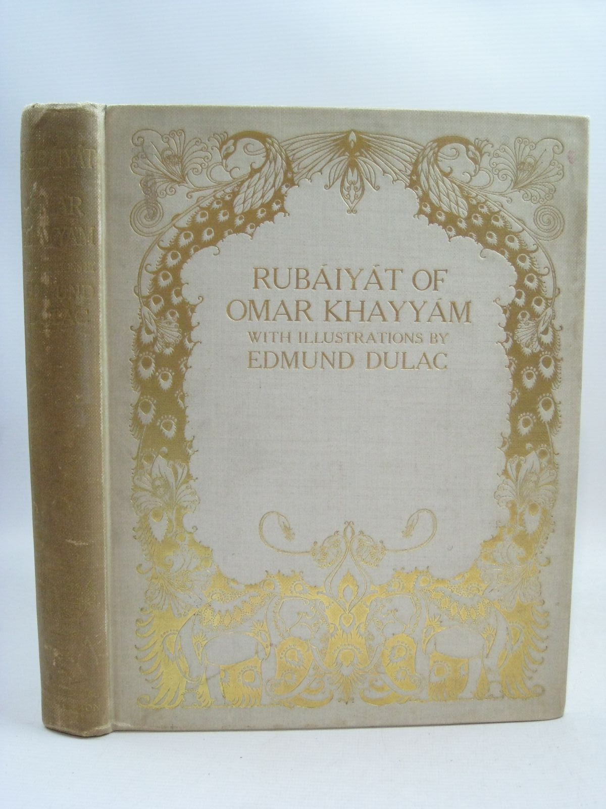 Photo of RUBAIYAT OF OMAR KHAYYAM written by Khayyam, Omar Fitzgerald, Edward illustrated by Dulac, Edmund published by Hodder & Stoughton (STOCK CODE: 1405199)  for sale by Stella & Rose's Books