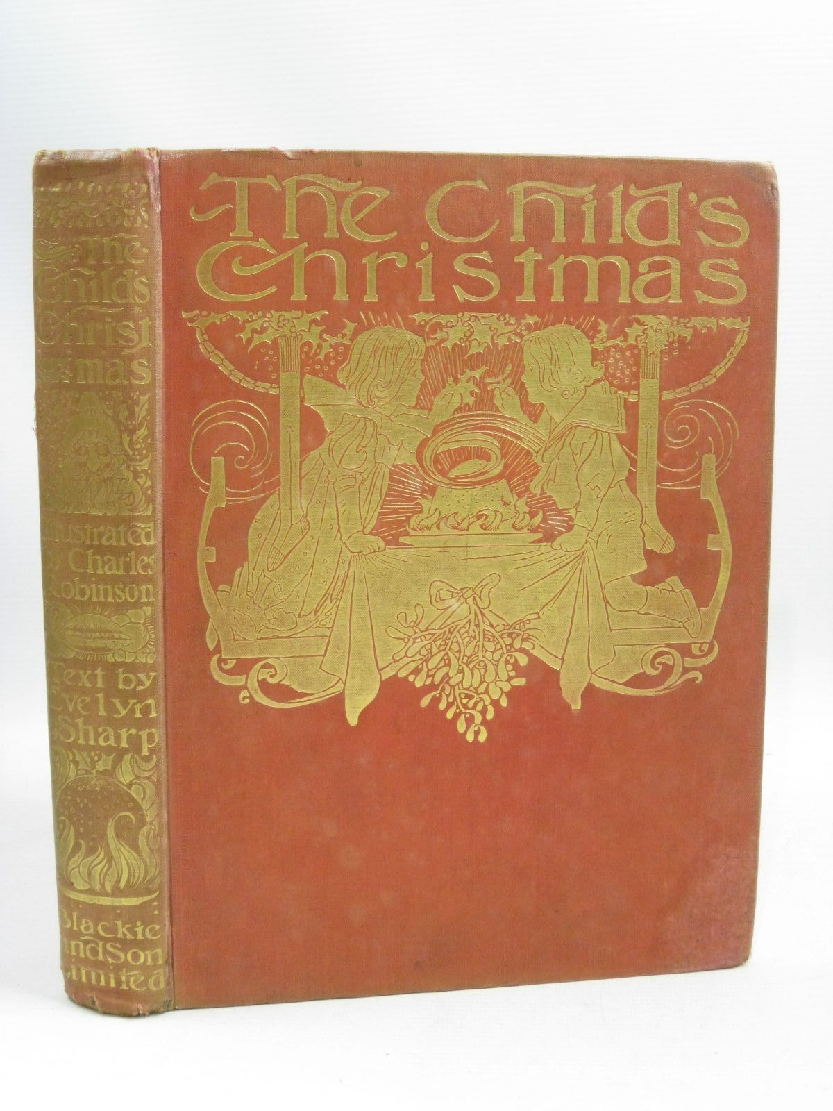 Photo of THE CHILD'S CHRISTMAS written by Sharp, Evelyn illustrated by Robinson, Charles published by Blackie & Son Ltd. (STOCK CODE: 1405238)  for sale by Stella & Rose's Books