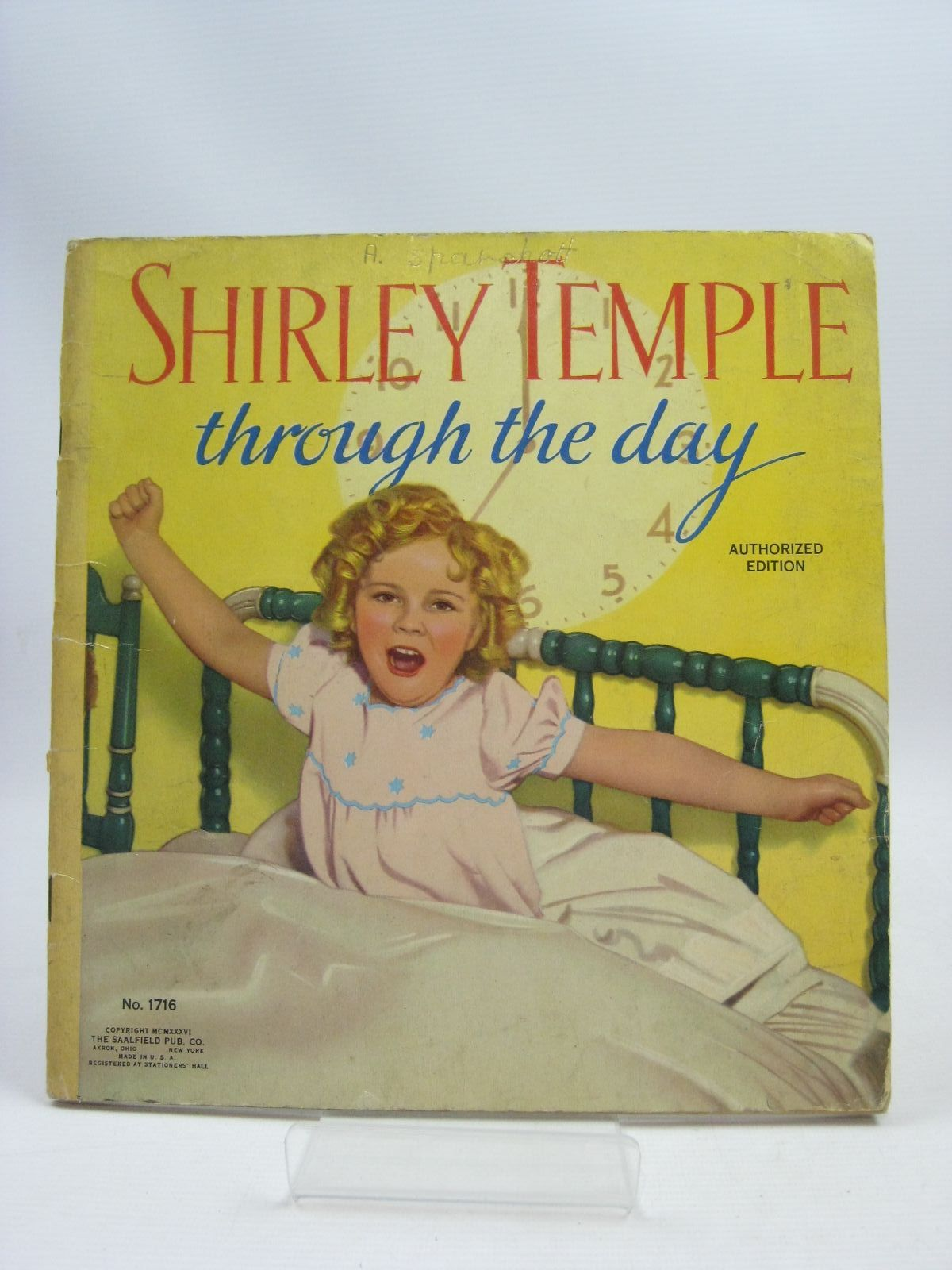 Photo of SHIRLEY TEMPLE THROUGH THE DAY- Stock Number: 1405266