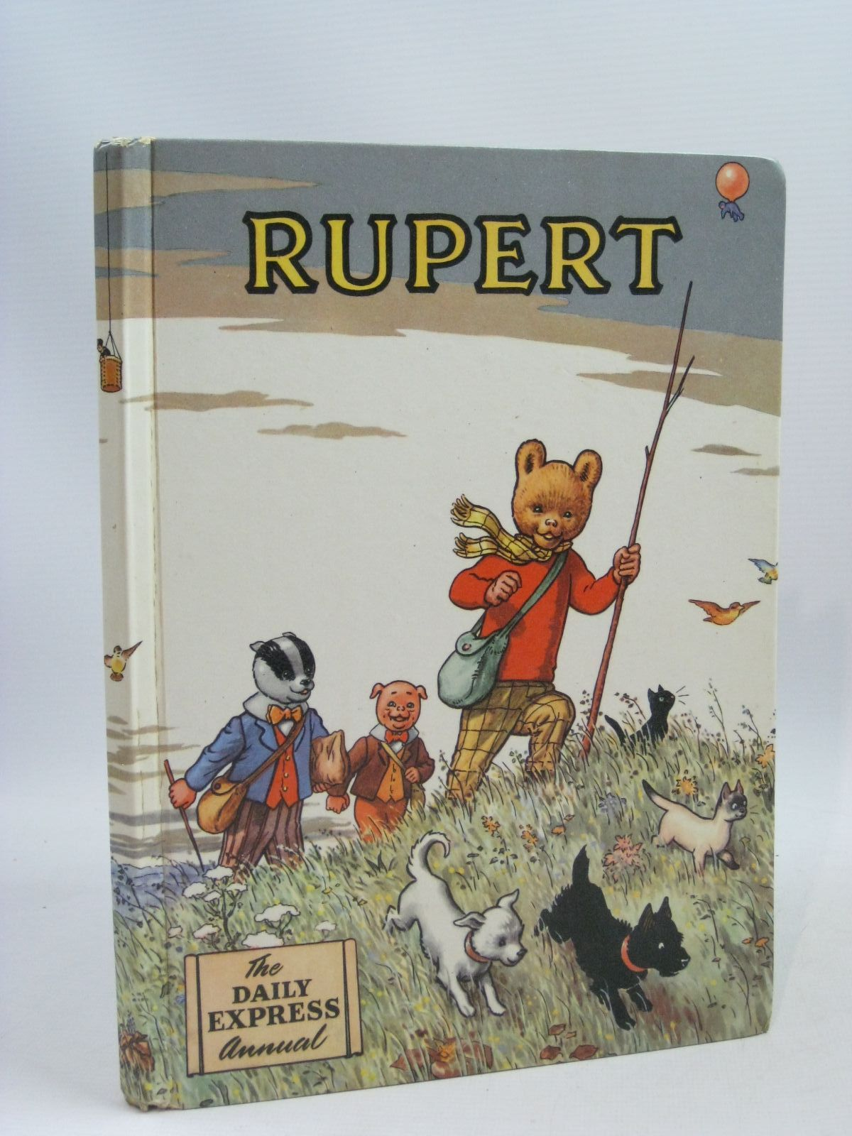 Photo of RUPERT ANNUAL 1955 written by Bestall, Alfred illustrated by Bestall, Alfred published by Daily Express (STOCK CODE: 1405267)  for sale by Stella & Rose's Books