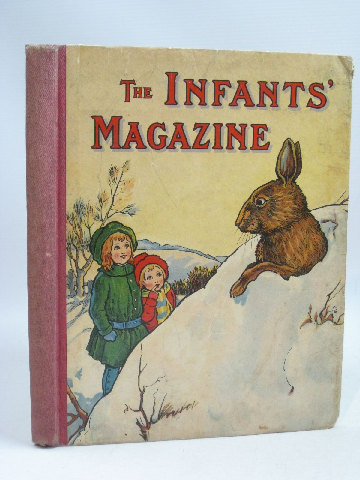 Photo of THE INFANTS' MAGAZINE 1917 written by Lea, John et al, illustrated by Earnshaw, Harold C. Aris, Ernest A. Bowley, A.L. Lambert, H.G.C. Marsh et al., published by S.W. Partridge & Co. Ltd. (STOCK CODE: 1405282)  for sale by Stella & Rose's Books