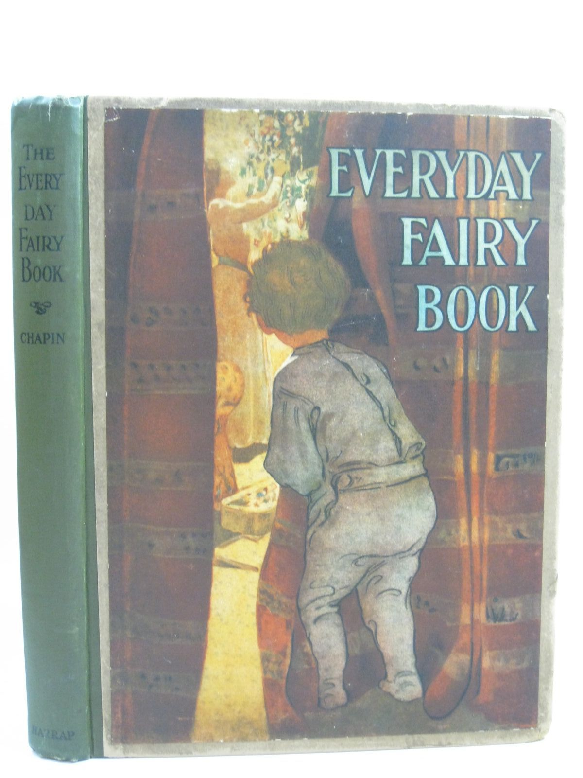 Photo of THE EVERYDAY FAIRY BOOK written by Chapin, Anna Alice illustrated by Smith, Jessie Willcox published by George G. Harrap & Co. Ltd. (STOCK CODE: 1405361)  for sale by Stella & Rose's Books