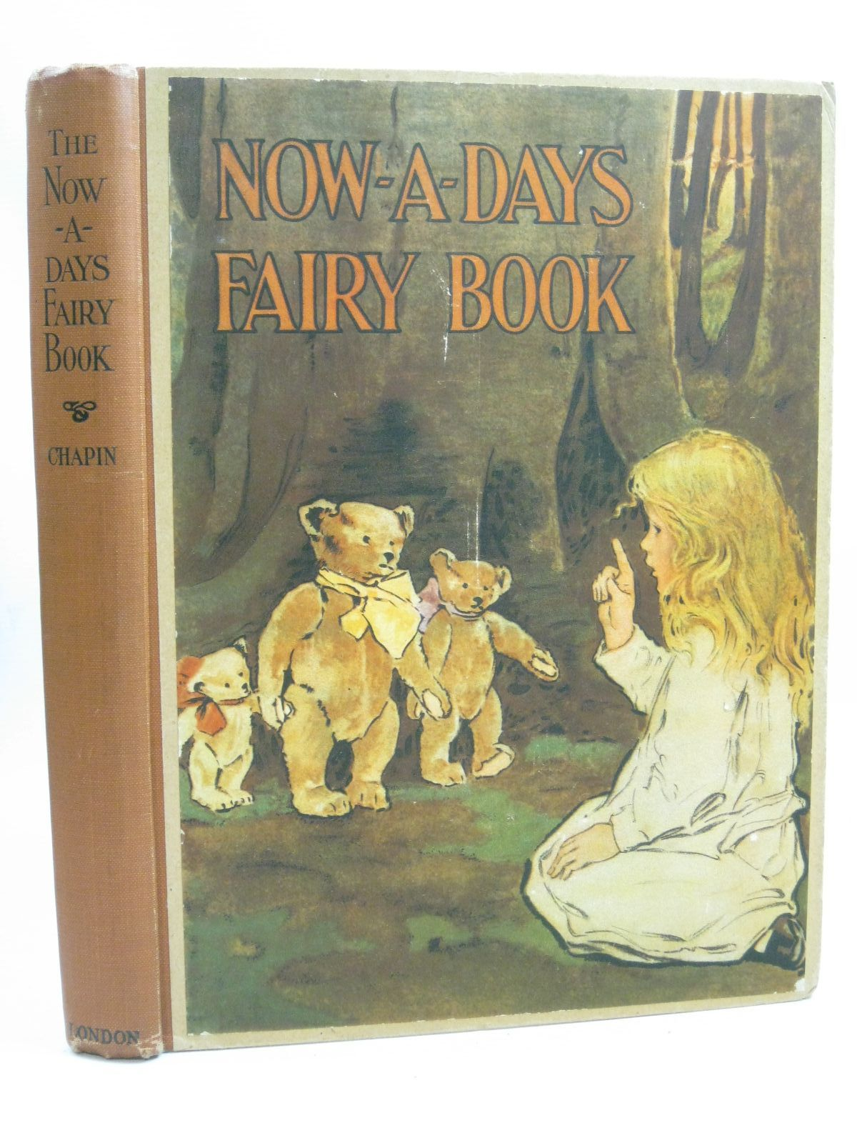 Photo of THE NOW-A-DAYS FAIRY BOOK written by Chapin, Anna Alice illustrated by Smith, Jessie Willcox published by J. Coker & Co. (STOCK CODE: 1405362)  for sale by Stella & Rose's Books