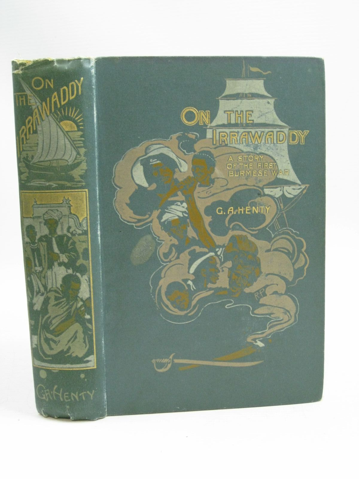 Photo of ON THE IRRAWADDY written by Henty, G.A. illustrated by Overend, W.H. published by Blackie & Son Ltd. (STOCK CODE: 1405380)  for sale by Stella & Rose's Books