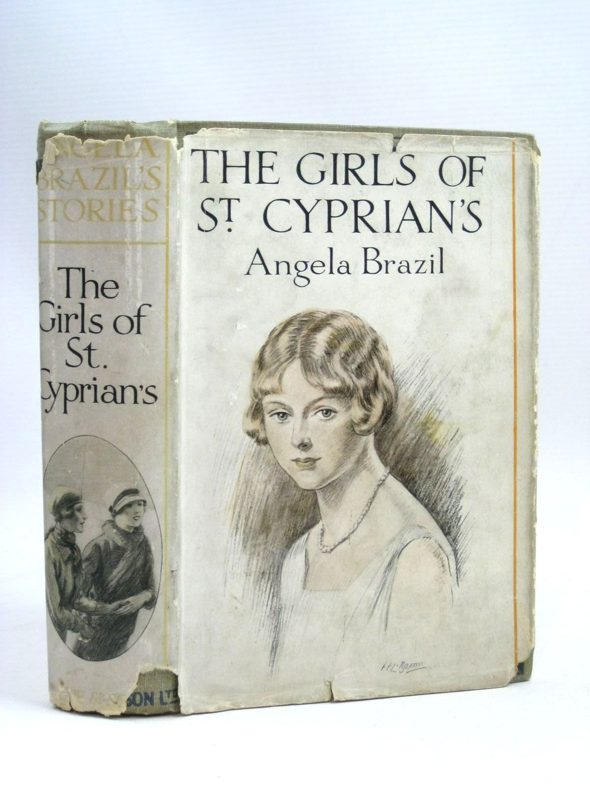 Photo of THE GIRLS OF ST. CYPRIAN'S written by Brazil, Angela illustrated by Davis, Stanley published by Blackie & Son Ltd. (STOCK CODE: 1405534)  for sale by Stella & Rose's Books