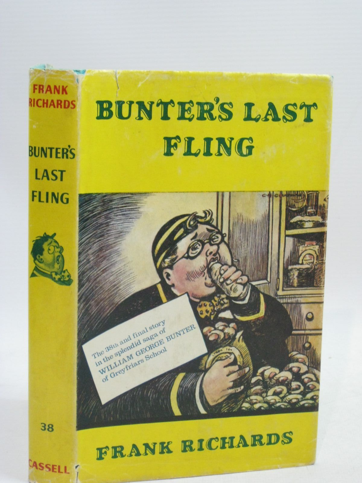 Photo of BUNTER'S LAST FLING written by Richards, Frank illustrated by Chapman, C.H. published by Cassell (STOCK CODE: 1405546)  for sale by Stella & Rose's Books