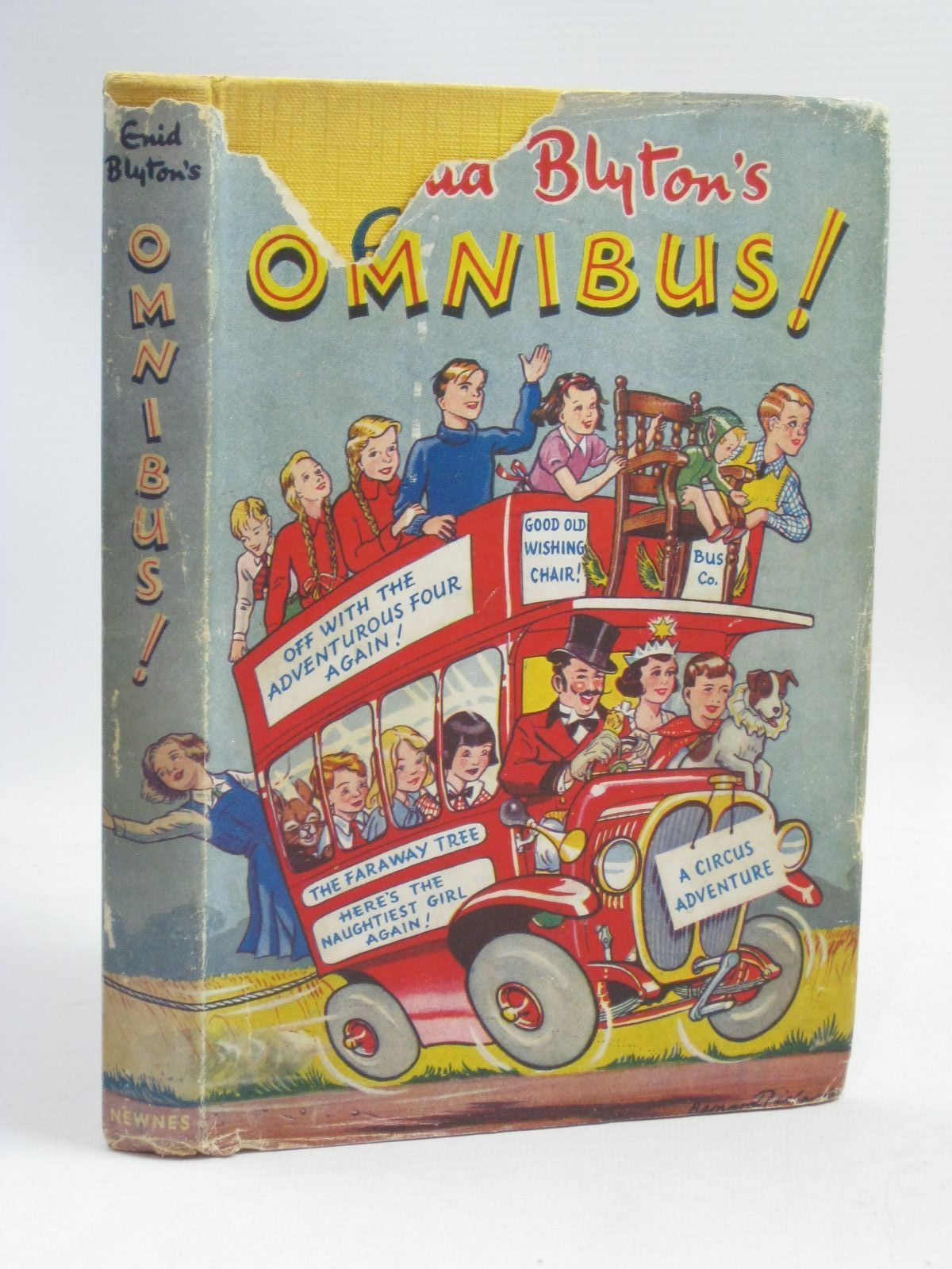 Photo of ENID BLYTON'S OMNIBUS written by Blyton, Enid illustrated by Land, Jessie<br />McGavin, Hilda<br />Davie, E.H.<br />Wheeler, Dorothy M.<br />Kay,  published by George Newnes Limited (STOCK CODE: 1405563)  for sale by Stella & Rose's Books