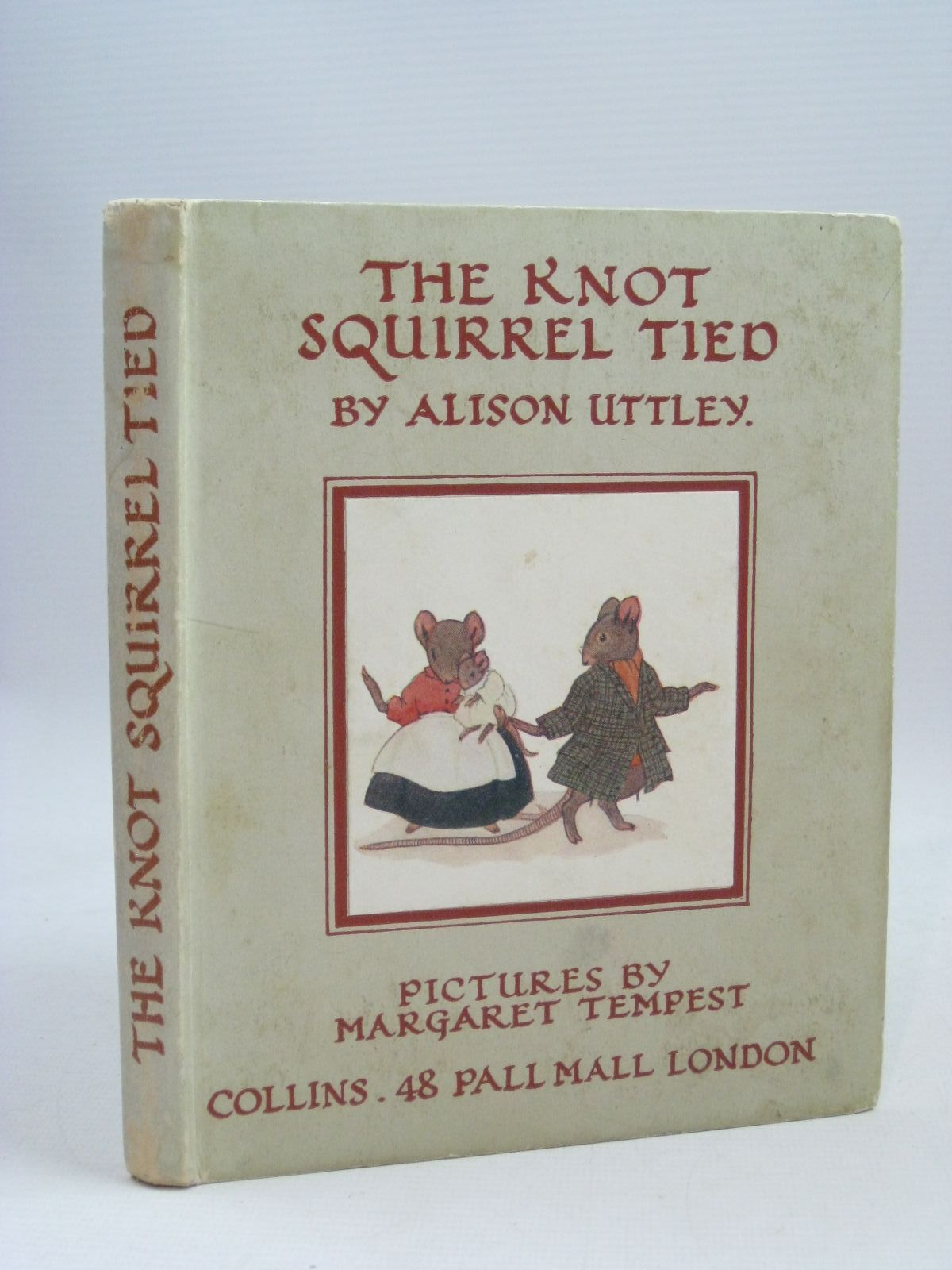 Photo of THE KNOT SQUIRREL TIED written by Uttley, Alison illustrated by Tempest, Margaret published by Collins (STOCK CODE: 1405592)  for sale by Stella & Rose's Books