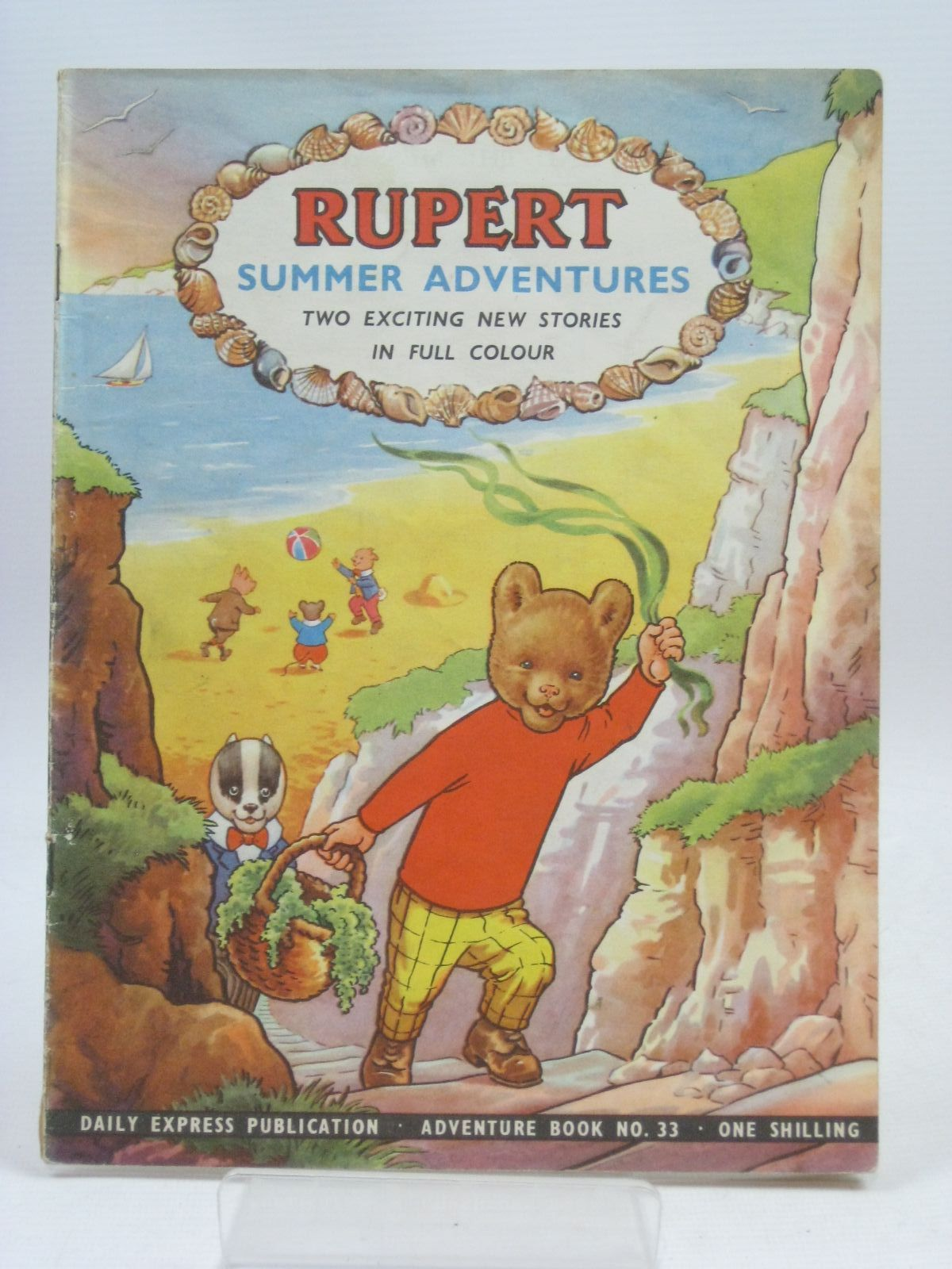Photo of RUPERT ADVENTURE BOOK No. 33 - SUMMER ADVENTURES written by Bestall, Alfred published by Daily Express, Oldbourne Book Co. Ltd. (STOCK CODE: 1405692)  for sale by Stella & Rose's Books
