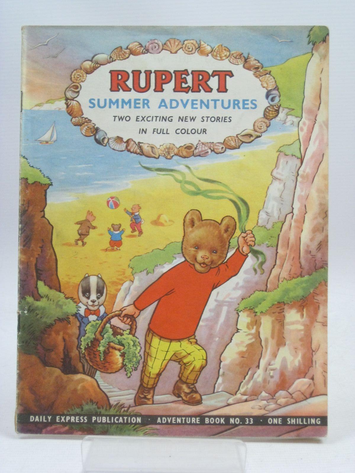 Photo of RUPERT ADVENTURE BOOK No. 33 - SUMMER ADVENTURES- Stock Number: 1405692