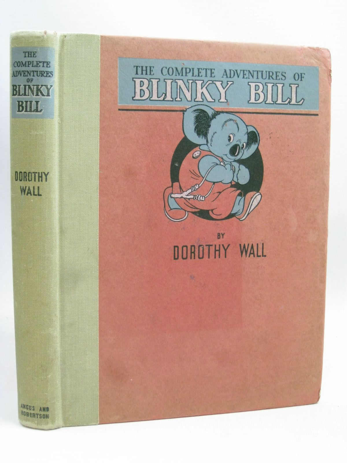 Photo of THE COMPLETE ADVENTURES OF BLINKY BILL written by Wall, Dorothy illustrated by Wall, Dorothy published by Angus & Robertson (STOCK CODE: 1405758)  for sale by Stella & Rose's Books