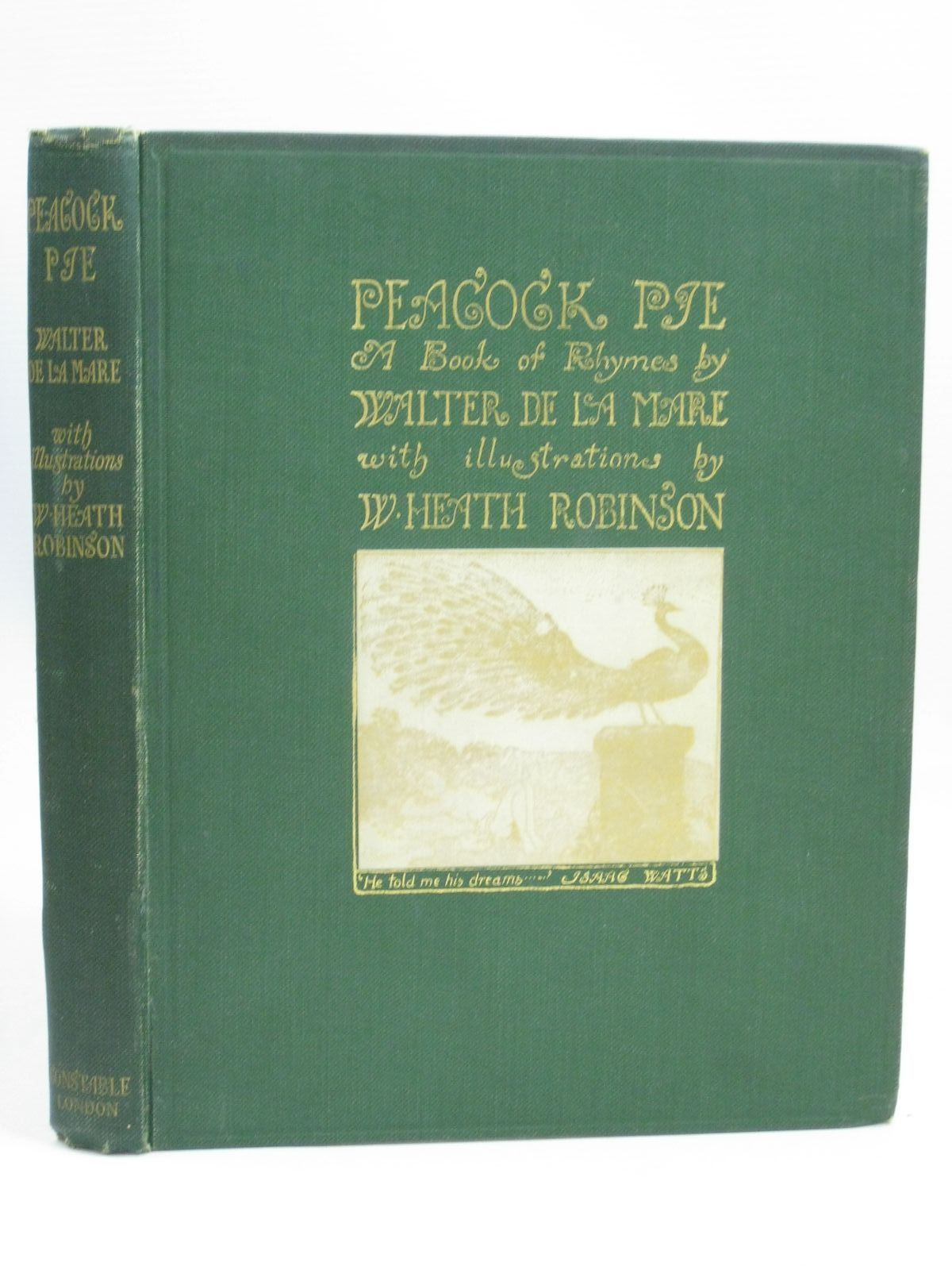 Photo of PEACOCK PIE - A BOOK OF RHYMES- Stock Number: 1405775