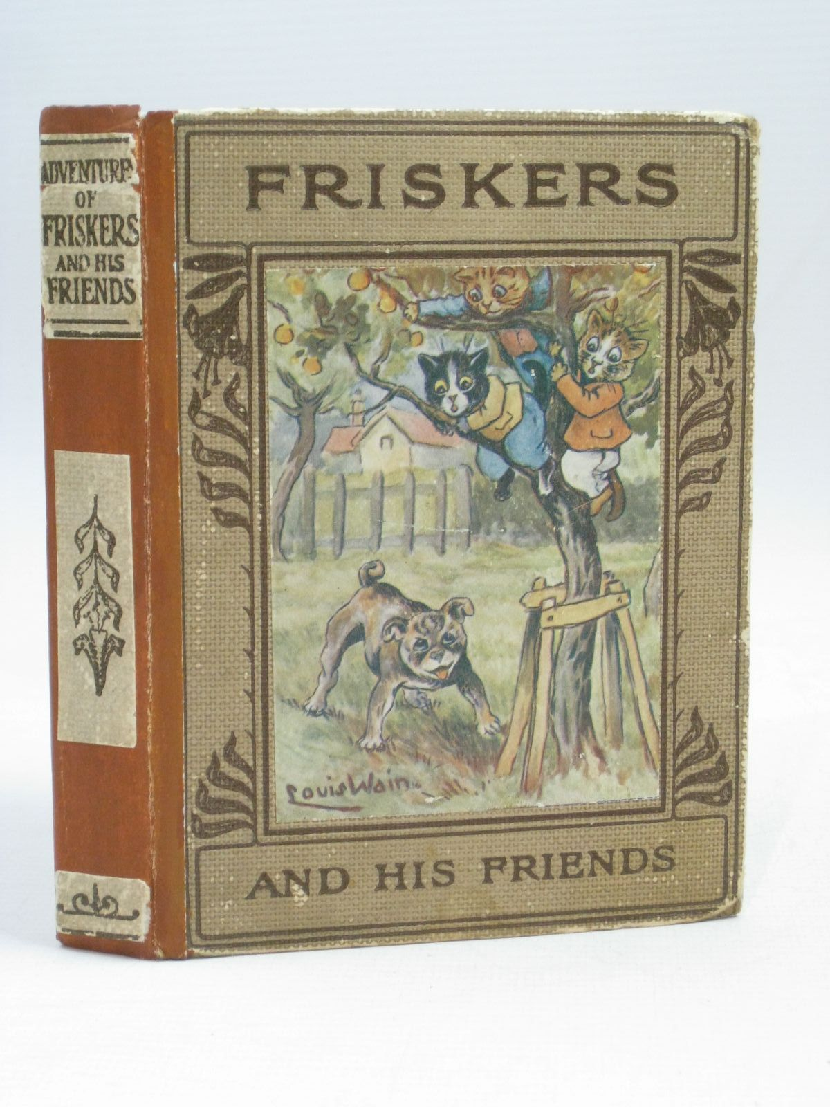 Photo of THE ADVENTURES OF FRISKERS AND HIS FRIENDS written by Hurrell, Marian Isabel illustrated by Wain, Louis published by Robert Culley (STOCK CODE: 1405778)  for sale by Stella & Rose's Books