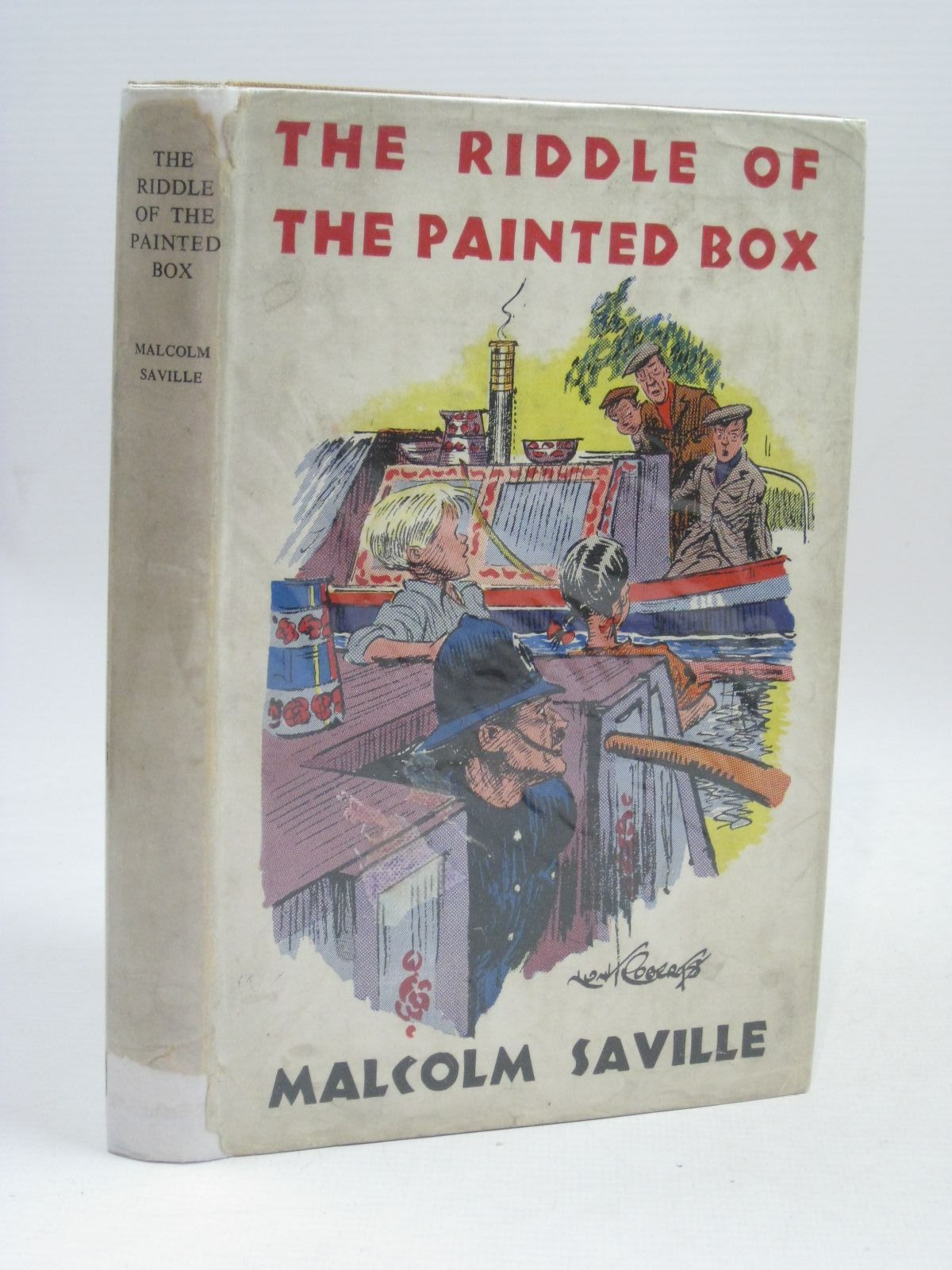 Photo of THE RIDDLE OF THE PAINTED BOX- Stock Number: 1405797