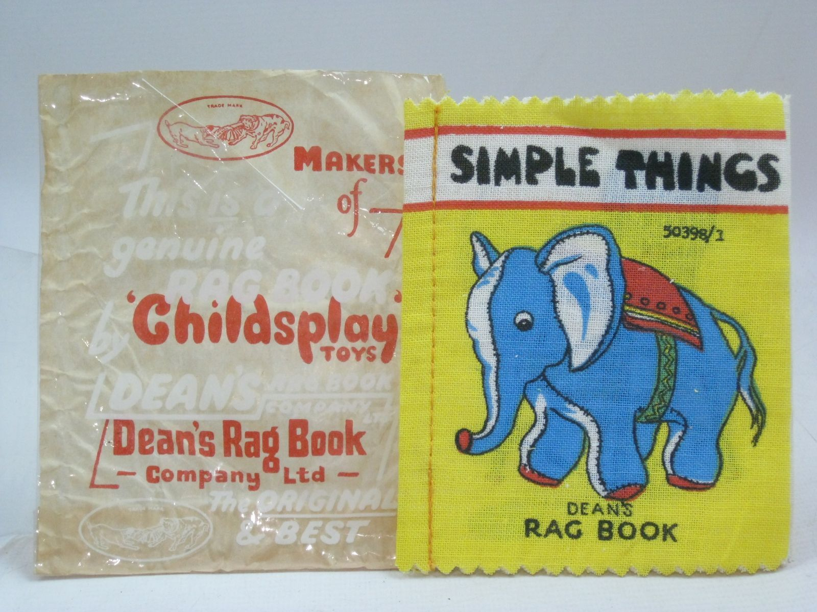 Photo of SIMPLE THINGS published by Dean's Rag Book Co. Ltd. (STOCK CODE: 1405807)  for sale by Stella & Rose's Books
