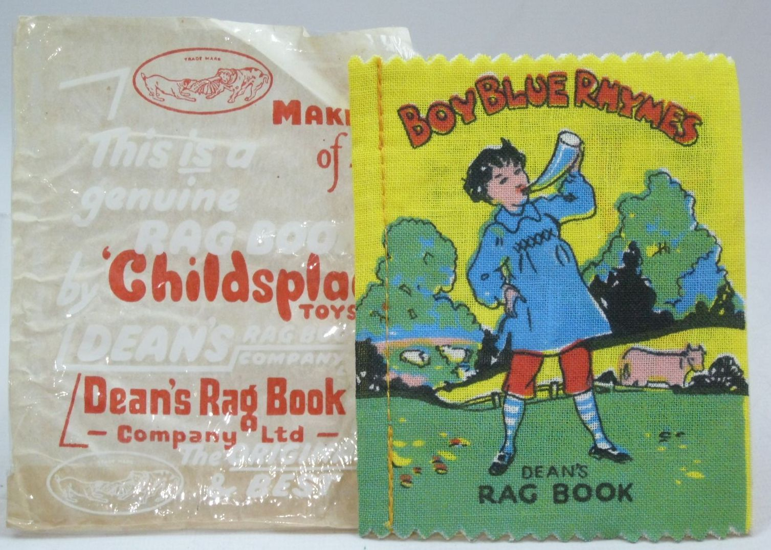 Photo of BOY BLUE RHYMES published by Dean's Rag Book Co. Ltd. (STOCK CODE: 1405811)  for sale by Stella & Rose's Books