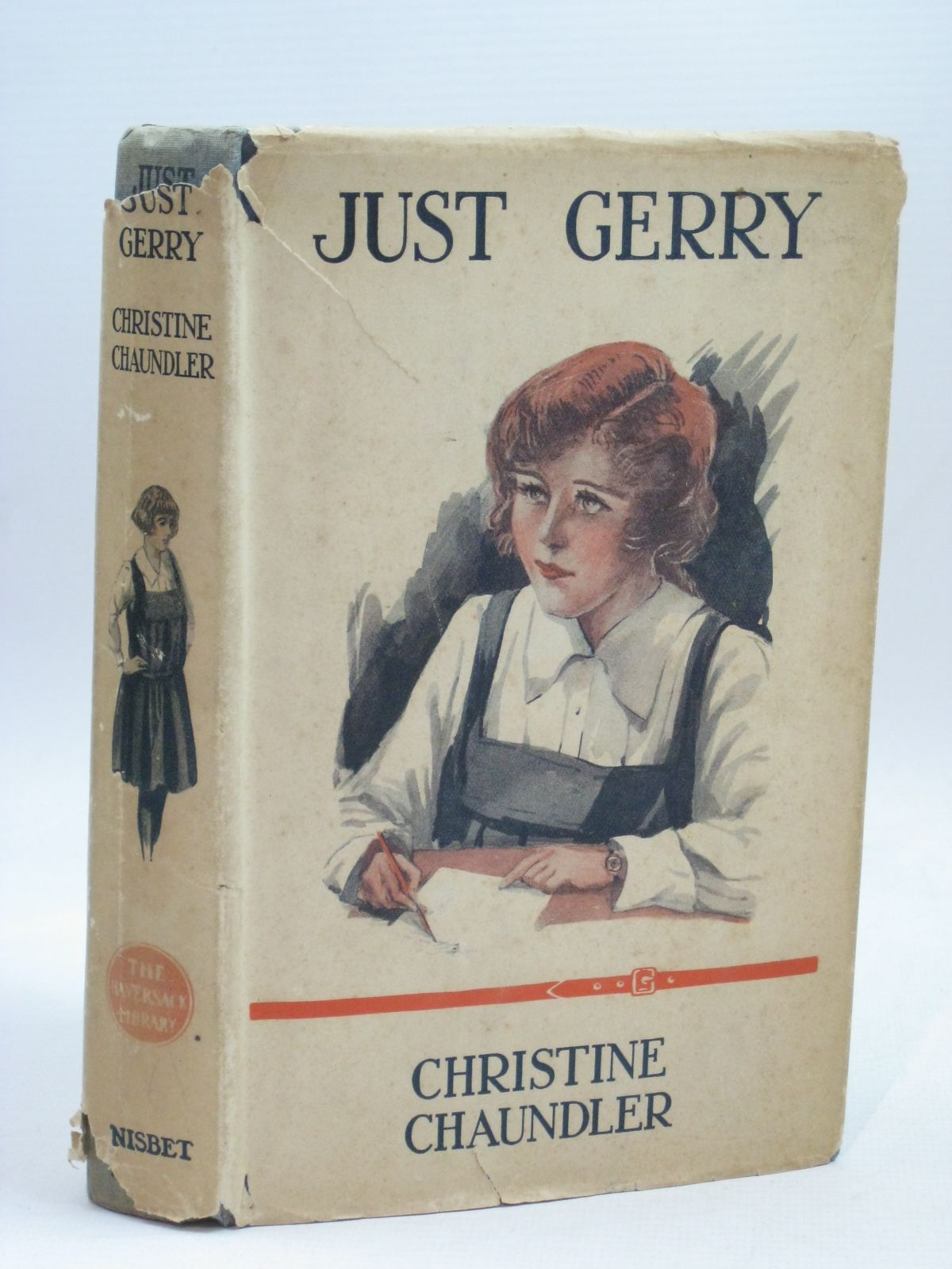 Photo of JUST GERRY written by Chaundler, Christine published by Nisbet & Co. Ltd. (STOCK CODE: 1405874)  for sale by Stella & Rose's Books