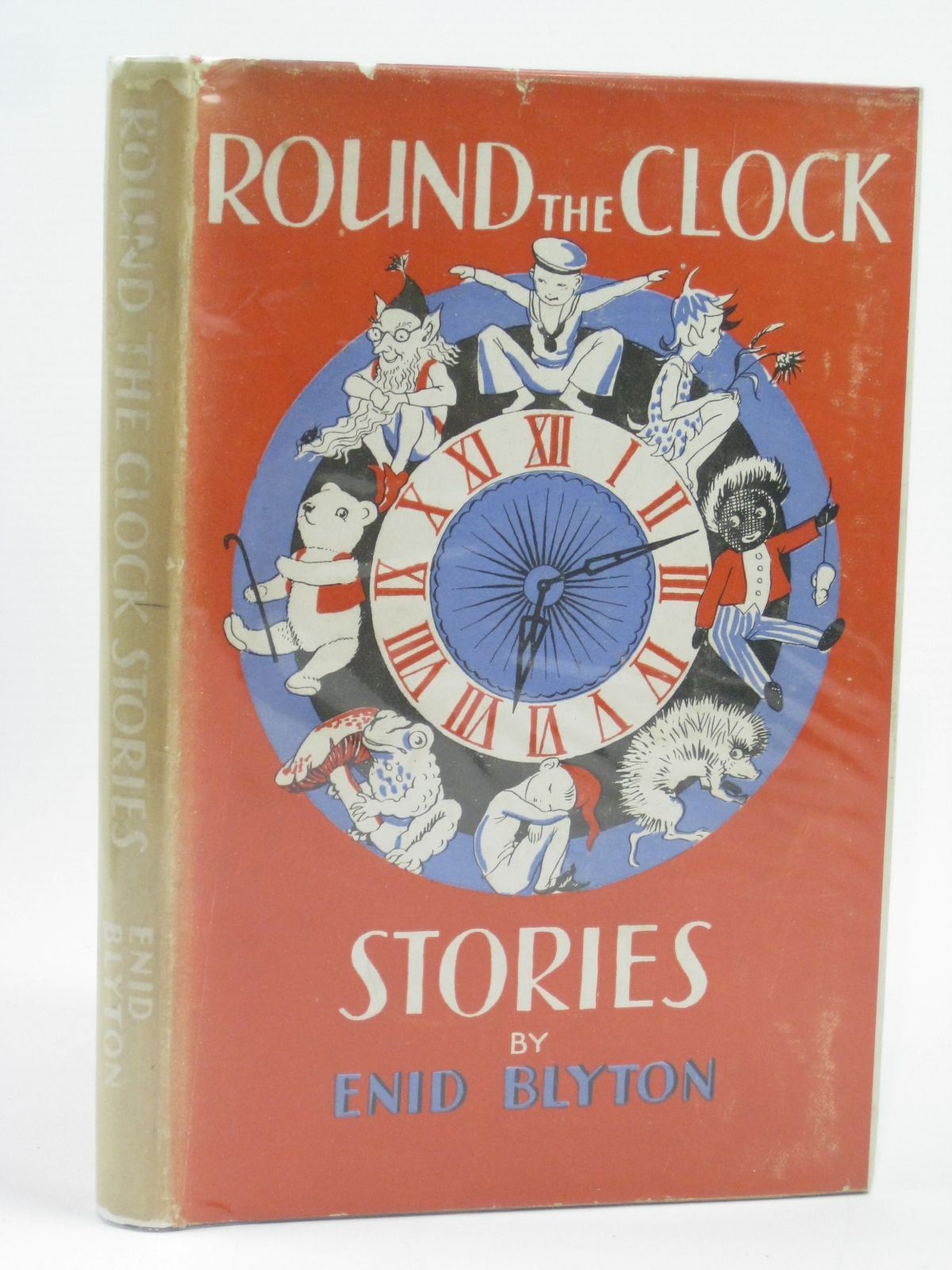Photo of ROUND THE CLOCK STORIES written by Blyton, Enid illustrated by Unwin, Nora published by The National Magazine Co. Ltd. (STOCK CODE: 1406061)  for sale by Stella & Rose's Books
