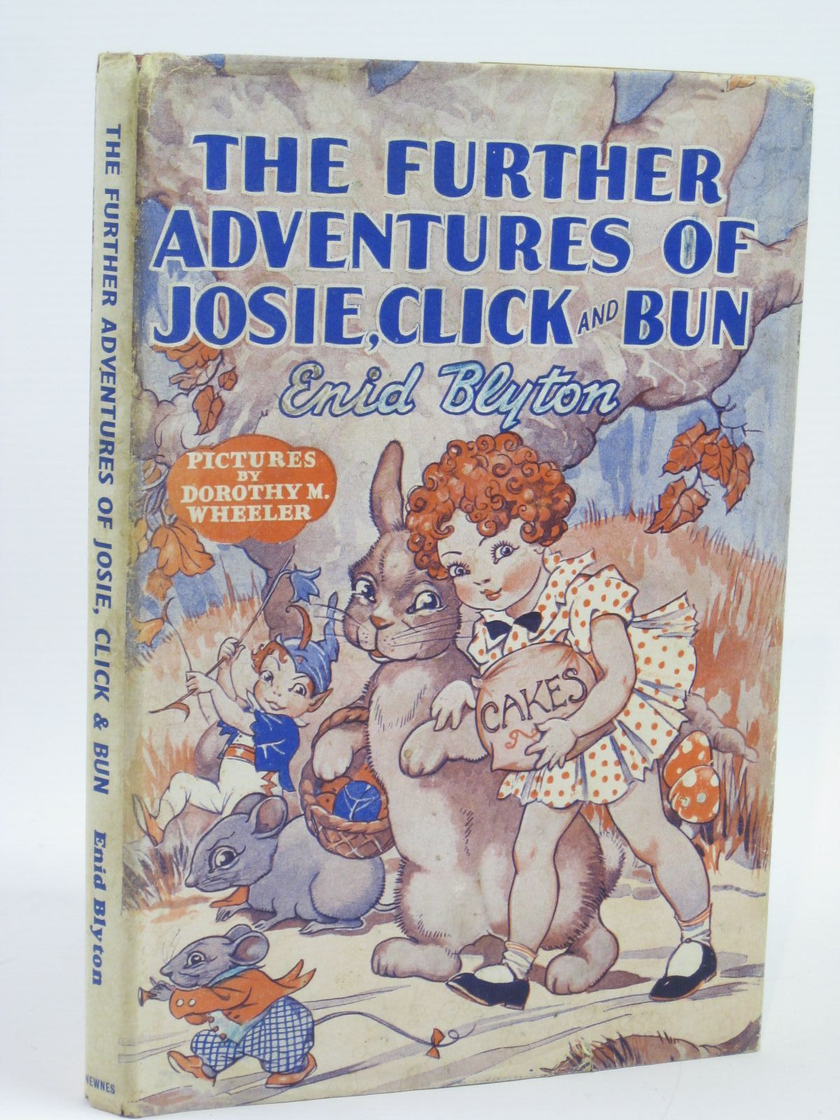 Photo of THE FURTHER ADVENTURES OF JOSIE, CLICK AND BUN- Stock Number: 1406151