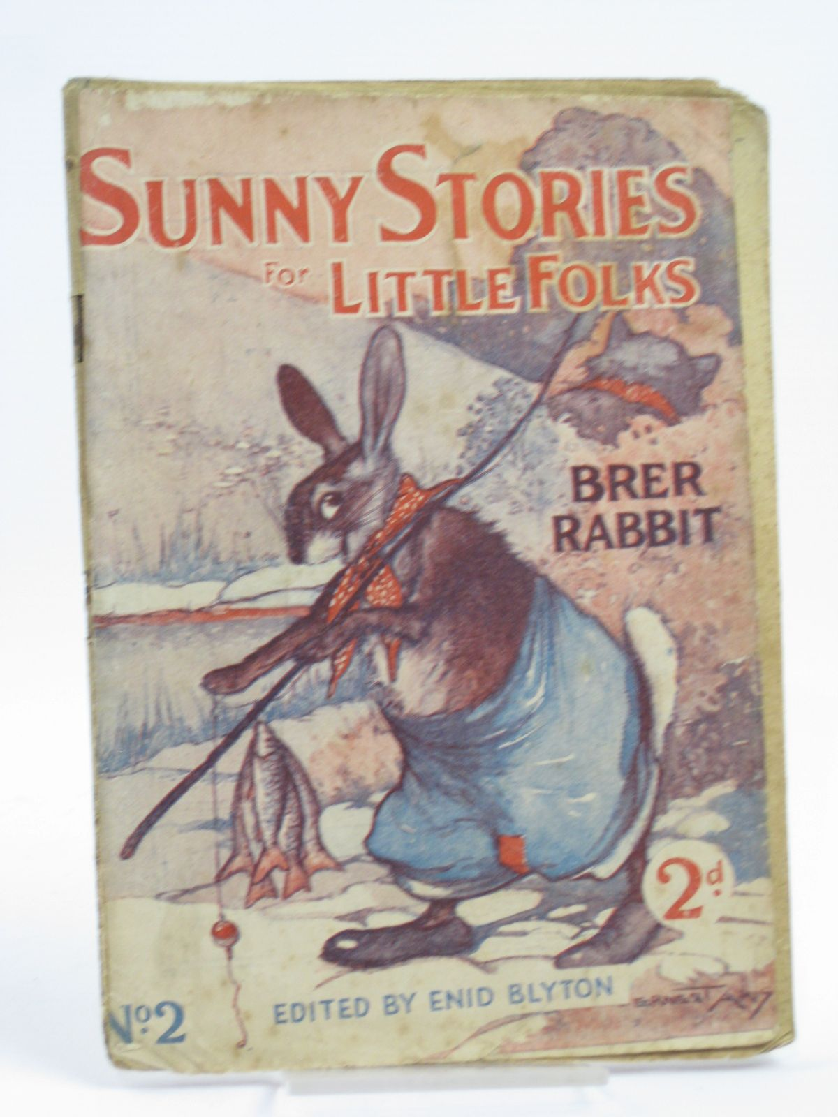 Photo of SUNNY STORIES FOR LITTLE FOLKS No. 2 BRER RABBIT- Stock Number: 1406176
