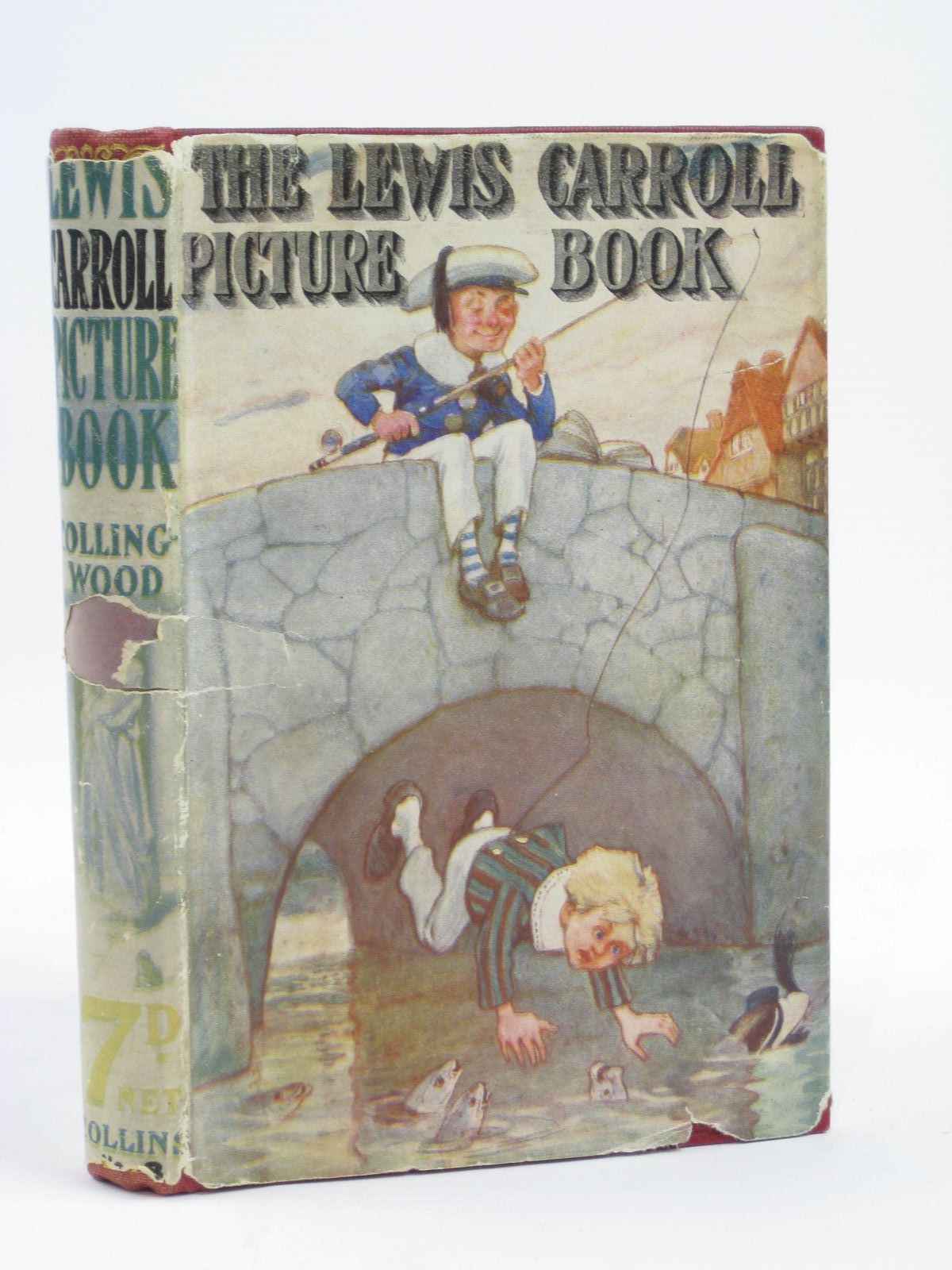 Photo of THE LEWIS CARROLL PICTURE BOOK written by Carroll, Lewis<br />Collingwood, Stuart Dodgson published by Collins Clear-Type Press (STOCK CODE: 1406212)  for sale by Stella & Rose's Books