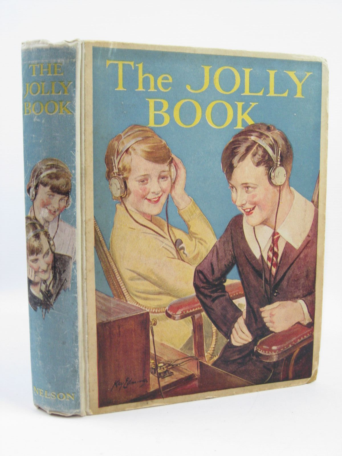 Photo of THE JOLLY BOOK - SEVENTEENTH YEAR written by Chisholm, Edwin Avery, Harold Marchant, Bessie Goodyear, R.A.H. et al, illustrated by Henry, Thomas Brock, R.H. et al., published by Thomas Nelson & Sons (STOCK CODE: 1406405)  for sale by Stella & Rose's Books