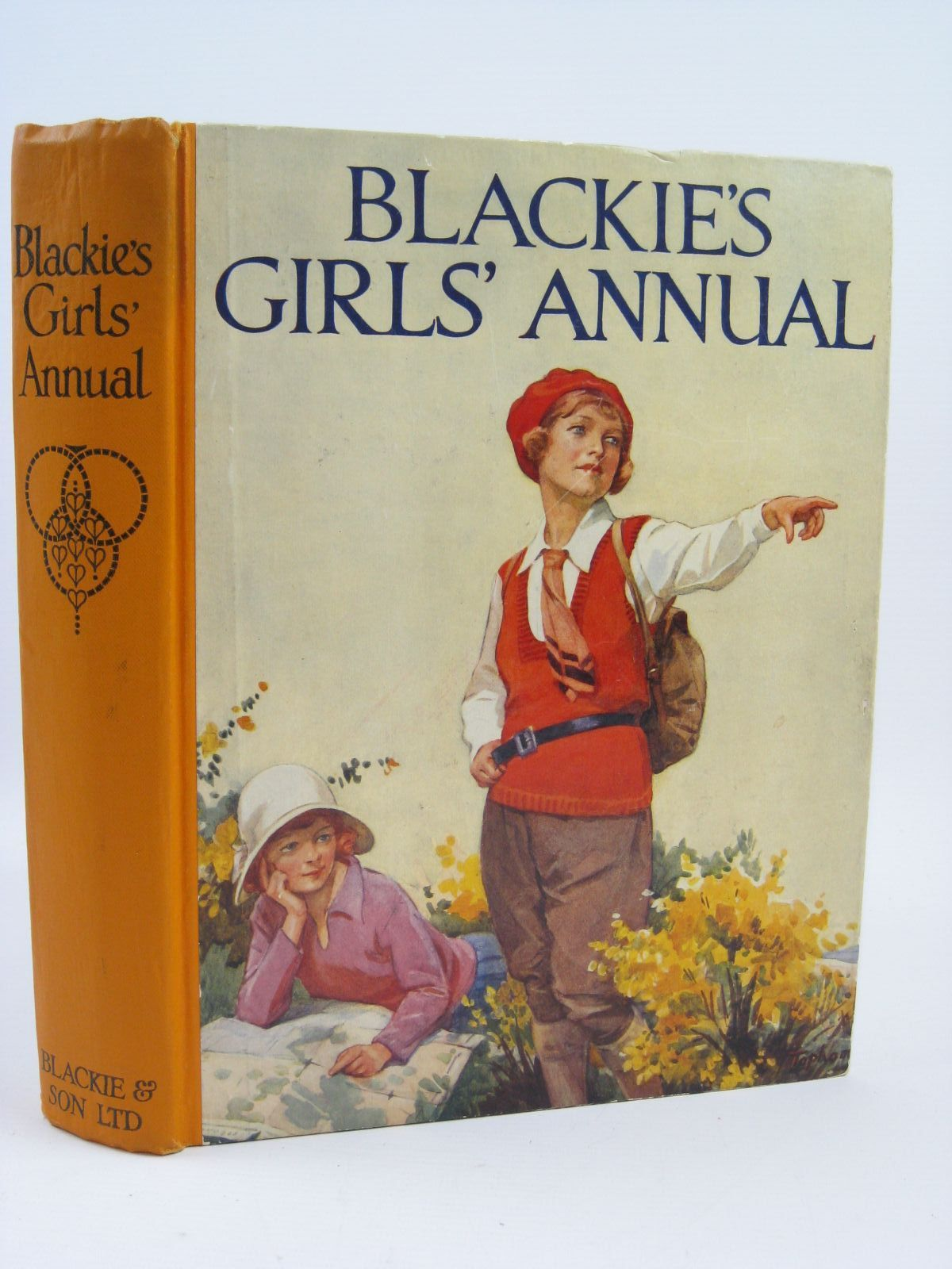 Photo of BLACKIE'S GIRLS' ANNUAL written by Joan, Natalie Cobb, Ruth Rutley, C. Bernard Cowper, E.E. et al,  illustrated by Brock, C.E. Cobb, Ruth Bestall, Alfred et al.,  published by Blackie & Son Ltd. (STOCK CODE: 1406406)  for sale by Stella & Rose's Books