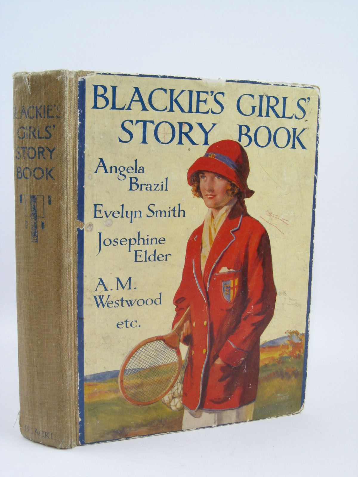 Photo of BLACKIE'S GIRLS' STORY BOOK written by Brazil, Angela Elder, Josephine Pocock, Doris Moore, Dorothea et al,  illustrated by Brock, H.M. Brock, C.E. Hickling, P.B. et al., published by Blackie & Son Ltd. (STOCK CODE: 1406409)  for sale by Stella & Rose's Books