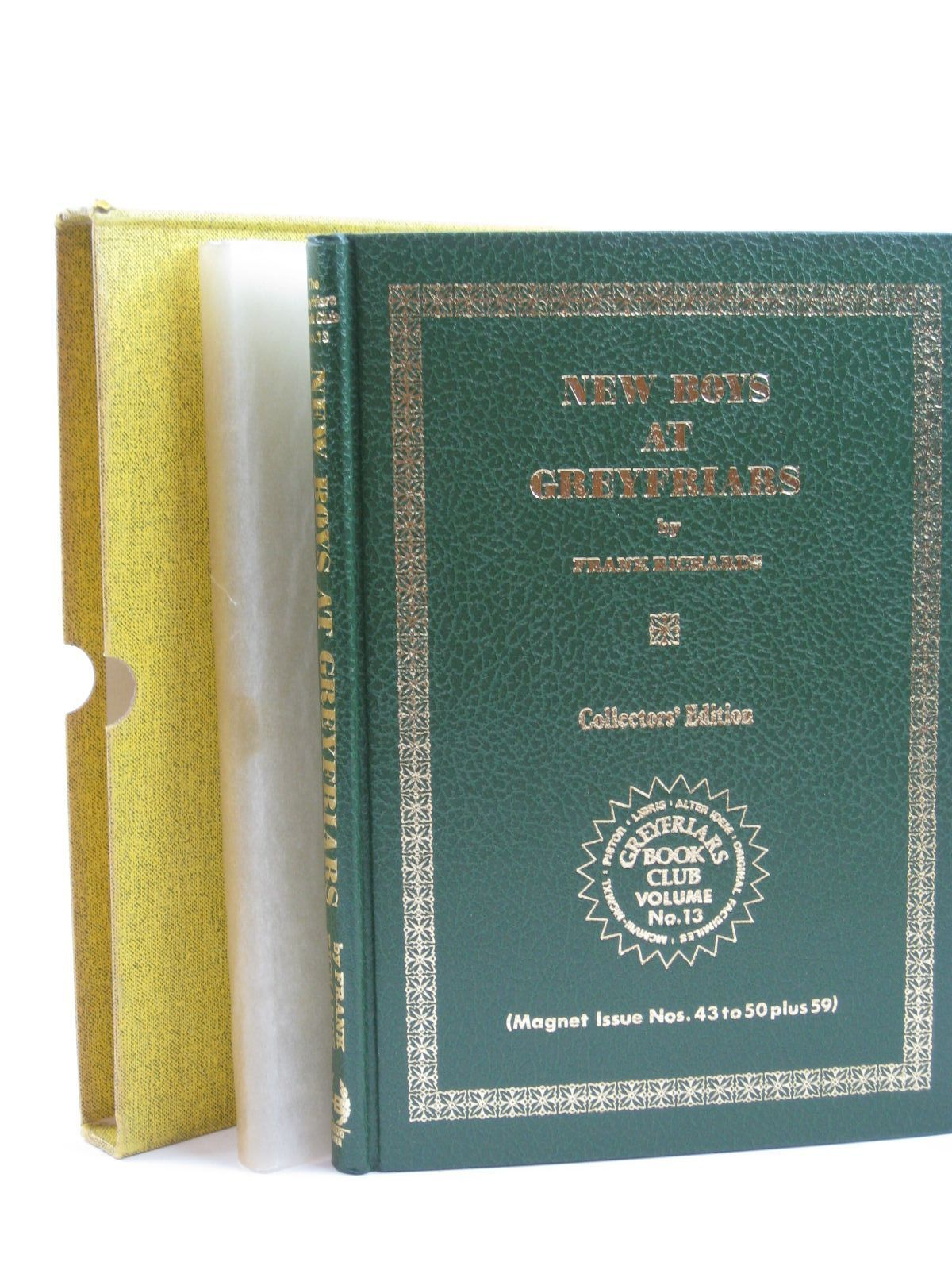 Photo of NEW BOYS AT GREYFRIARS written by Richards, Frank published by Howard Baker (STOCK CODE: 1406427)  for sale by Stella & Rose's Books