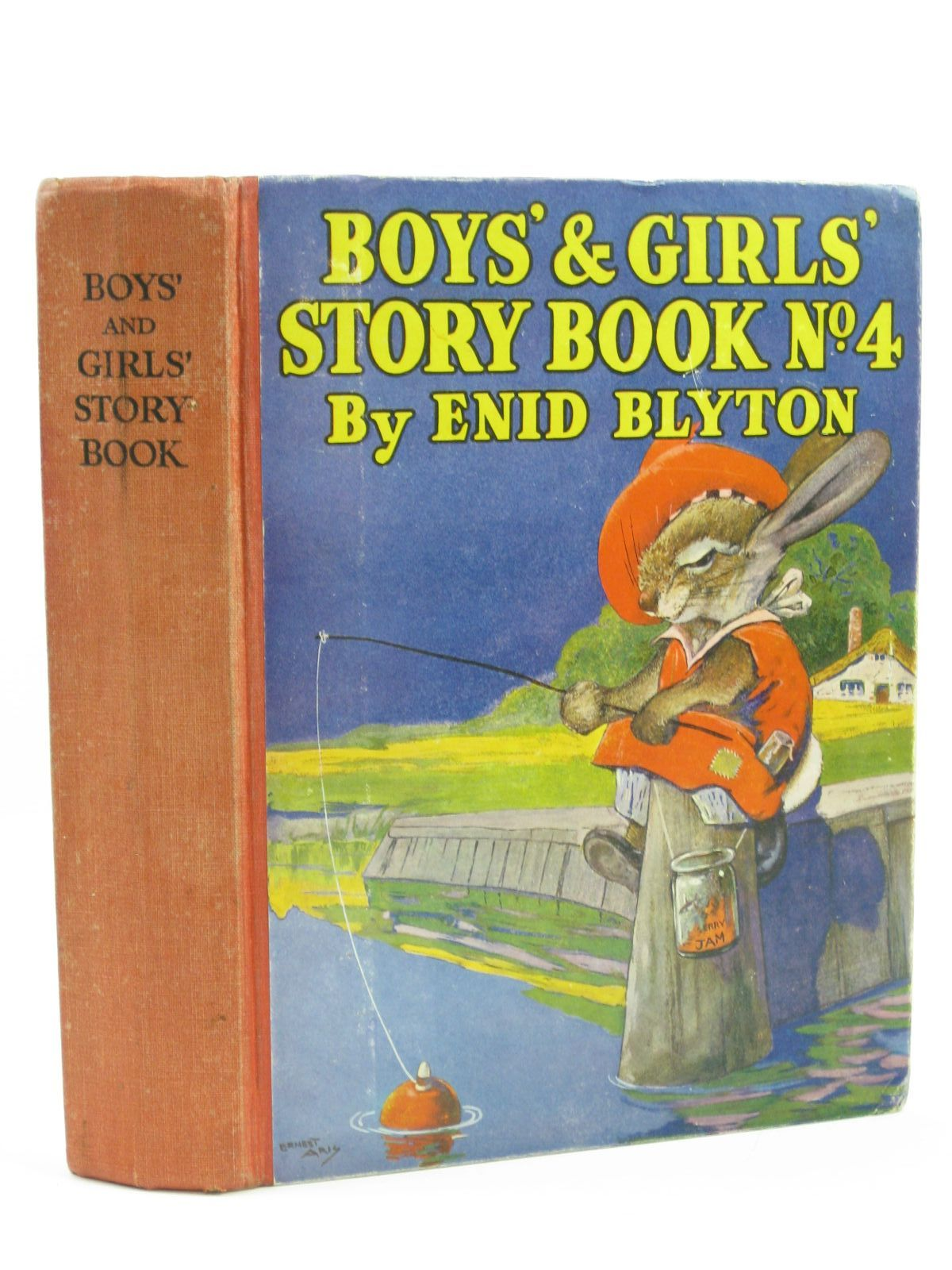 Photo of BOYS' AND GIRLS' STORY BOOK NO. 4 written by Blyton, Enid illustrated by Aris, Ernest A. Venus, Sylvia Davie, E.H. Robinson, Gordon published by News Chronicle Ltd. (STOCK CODE: 1406445)  for sale by Stella & Rose's Books