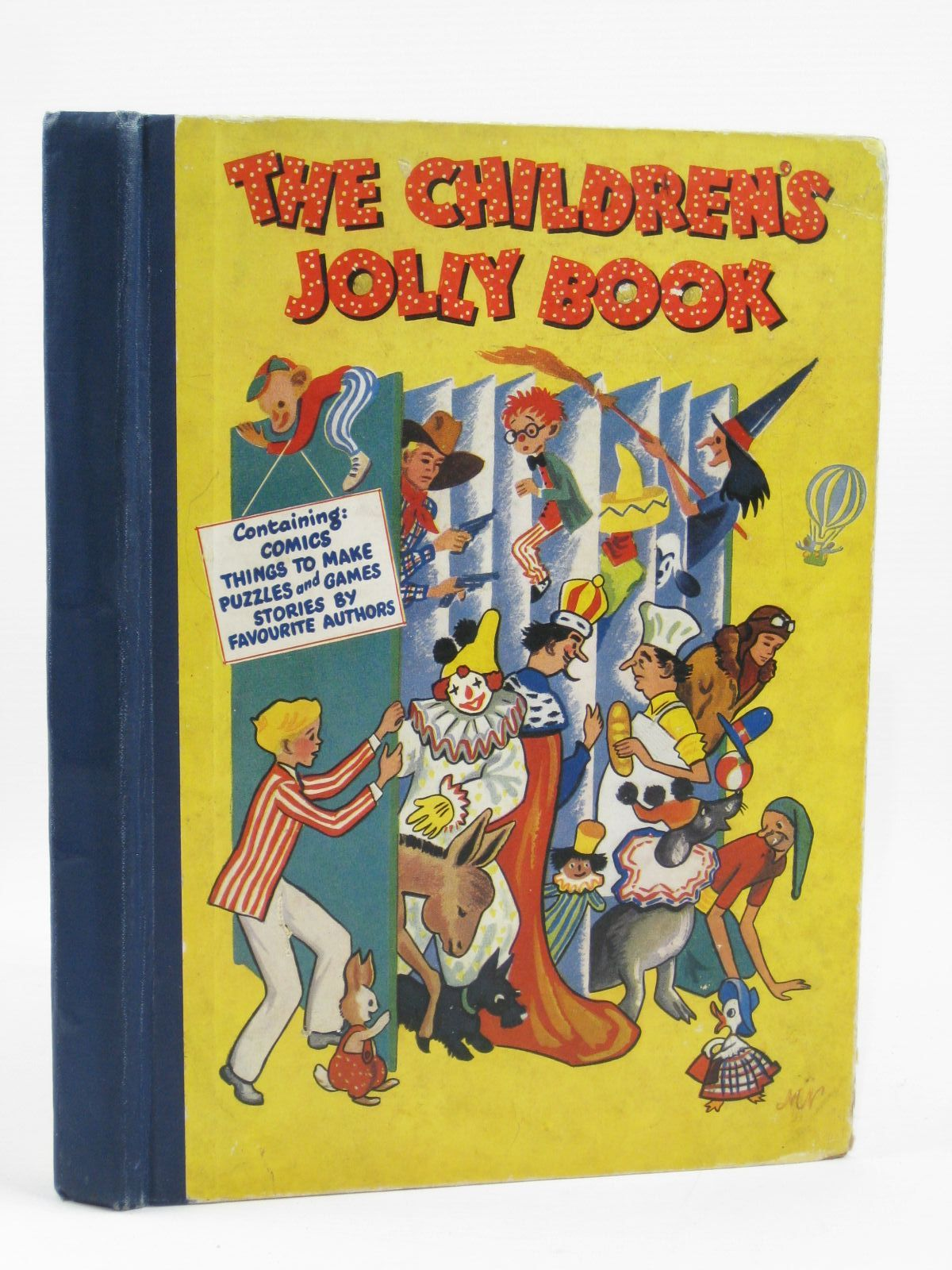 Photo of THE CHILDREN'S JOLLY BOOK- Stock Number: 1406446