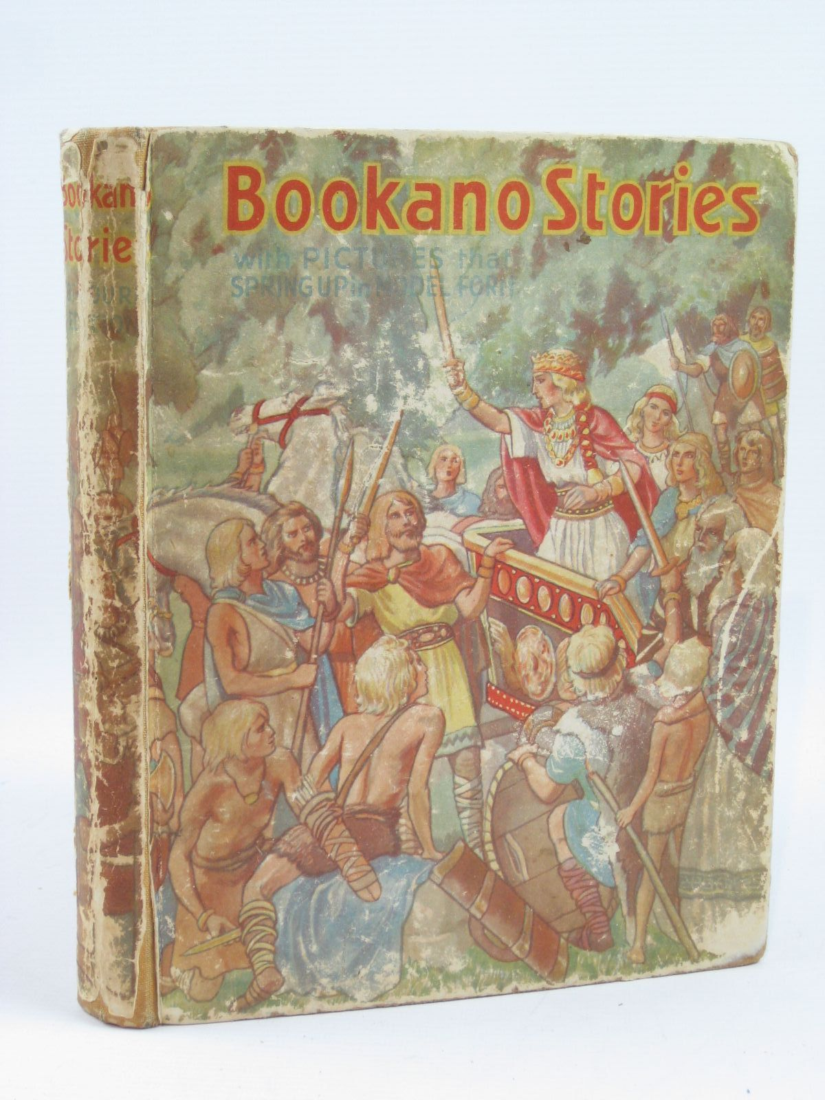Photo of BOOKANO STORIES WITH PICTURES THAT SPRING UP IN MODEL FORM- Stock Number: 1406467