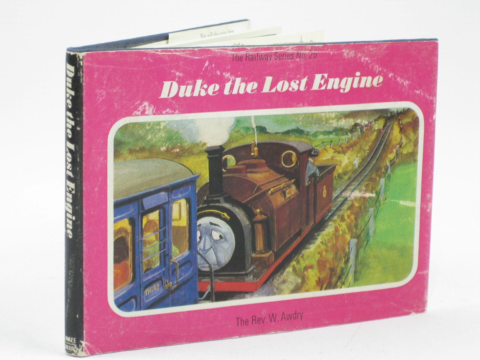 Photo of DUKE THE LOST ENGINE written by Awdry, Rev. W. illustrated by Edwards, Gunvor Edwards, Peter published by Kaye & Ward Ltd. (STOCK CODE: 1406477)  for sale by Stella & Rose's Books