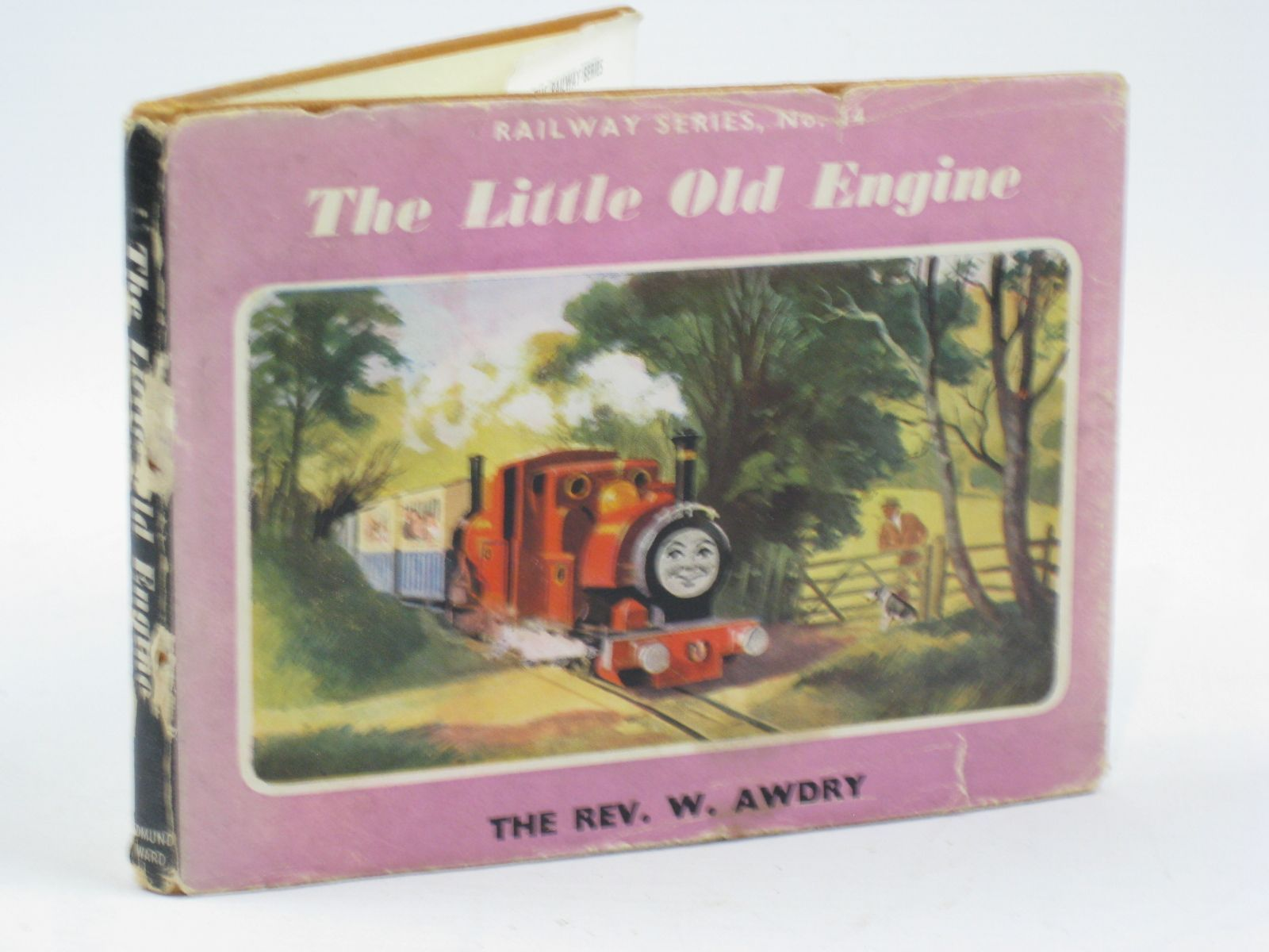 Photo of THE LITTLE OLD ENGINE written by Awdry, Rev. W. illustrated by Kenney, John published by Edmund Ward (STOCK CODE: 1406479)  for sale by Stella & Rose's Books