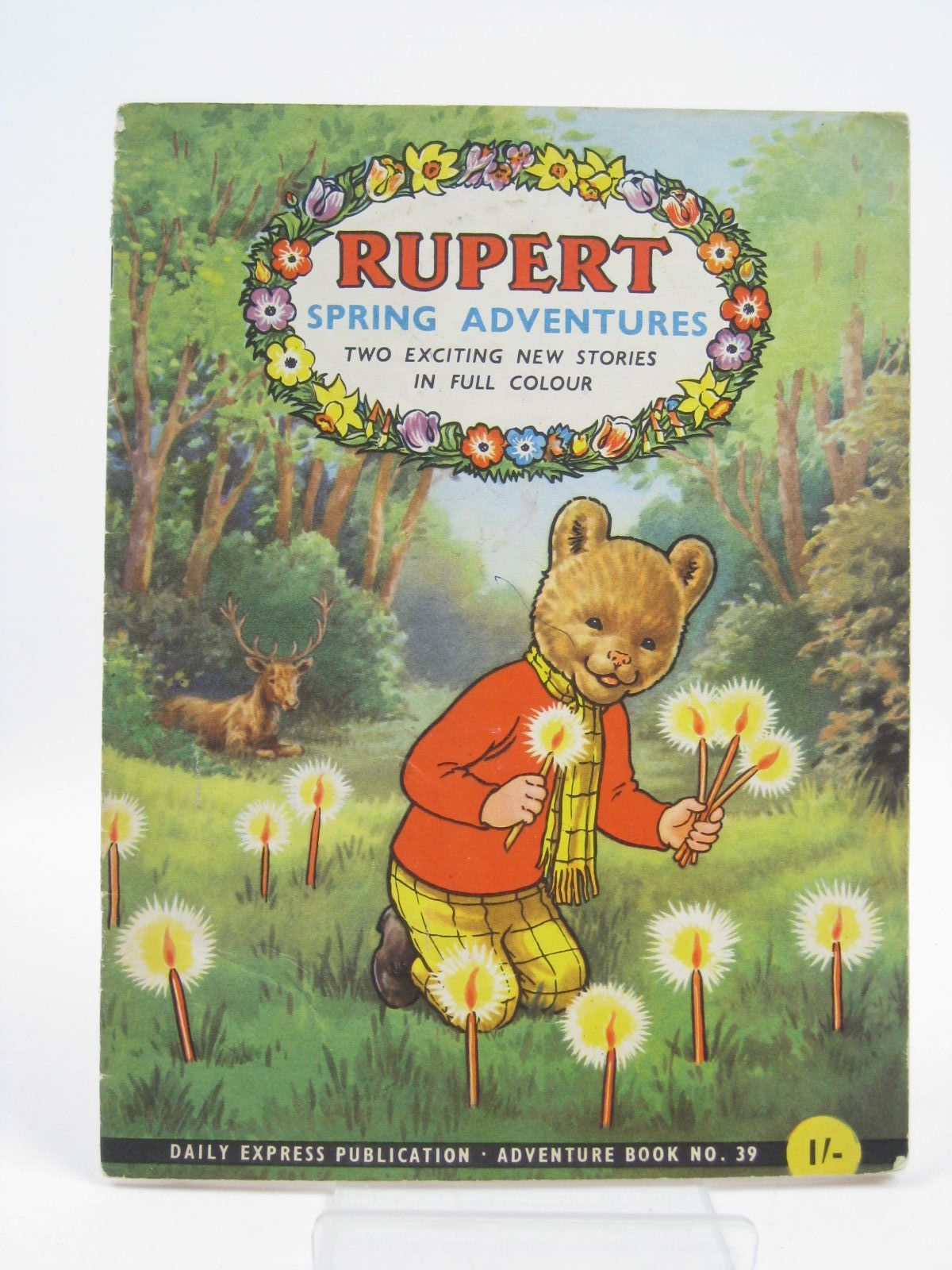 Photo of RUPERT ADVENTURE BOOK No. 39 - RUPERT SPRING ADVENTURES written by Bestall, Alfred published by Daily Express (STOCK CODE: 1406558)  for sale by Stella & Rose's Books